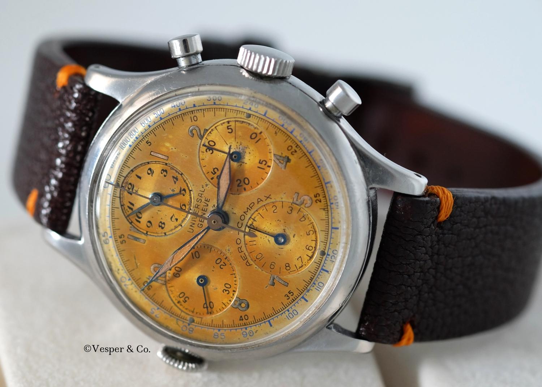 Aero-Compax Chronograph 1950's   SOLD