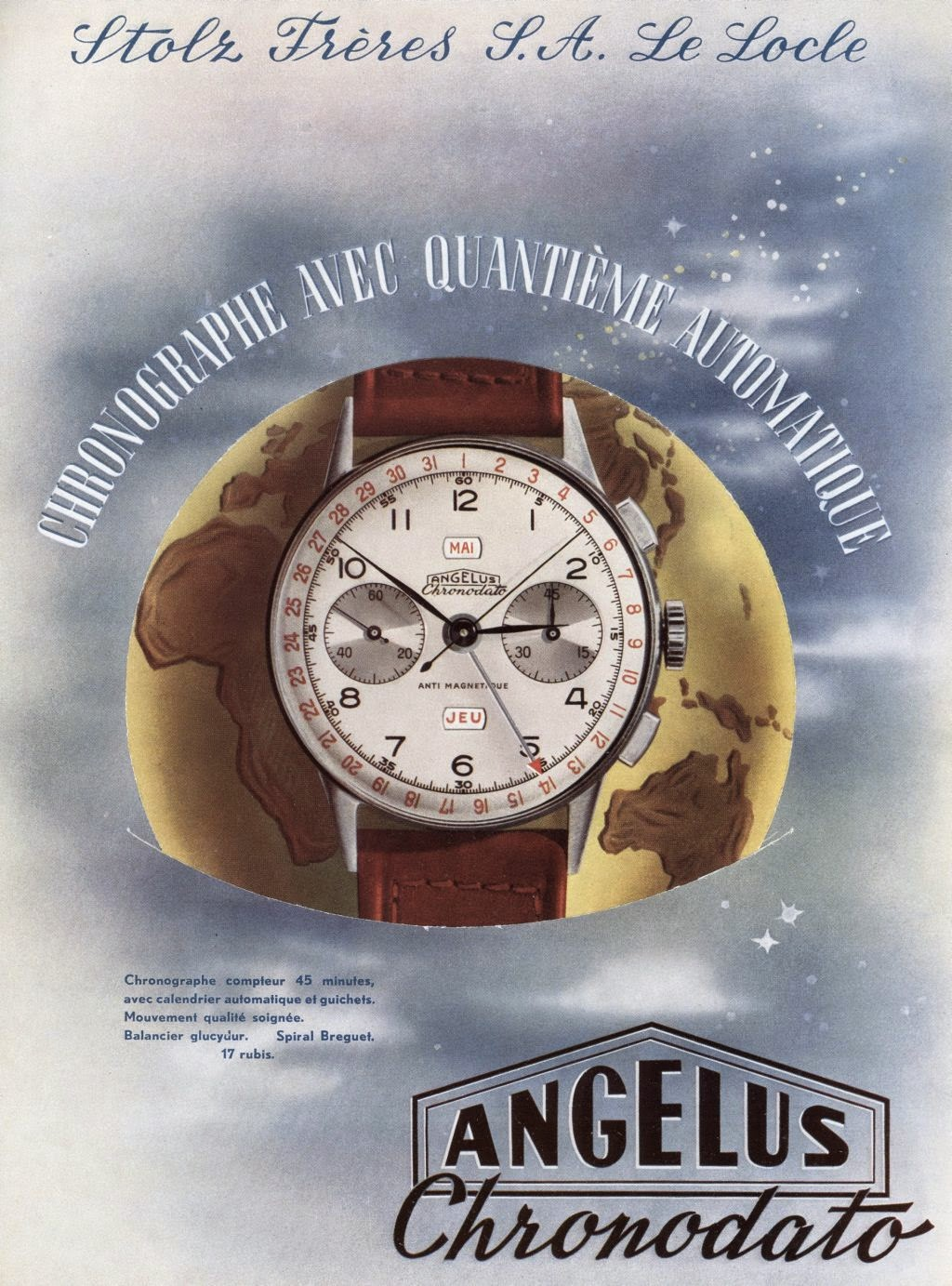 Advertising Angelus Chronodato