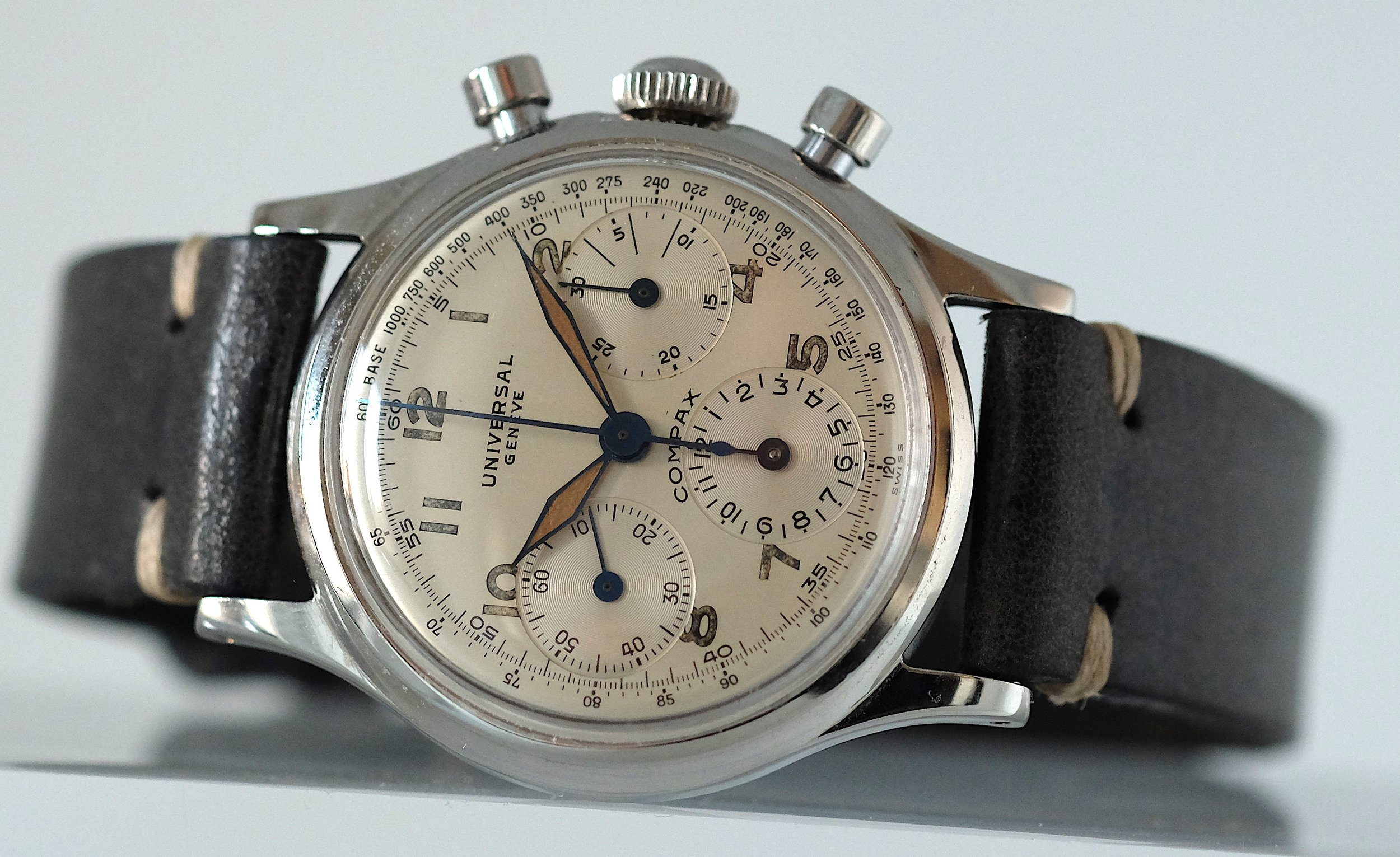 Compax Chronograph For Troy Ruttman   SOLD