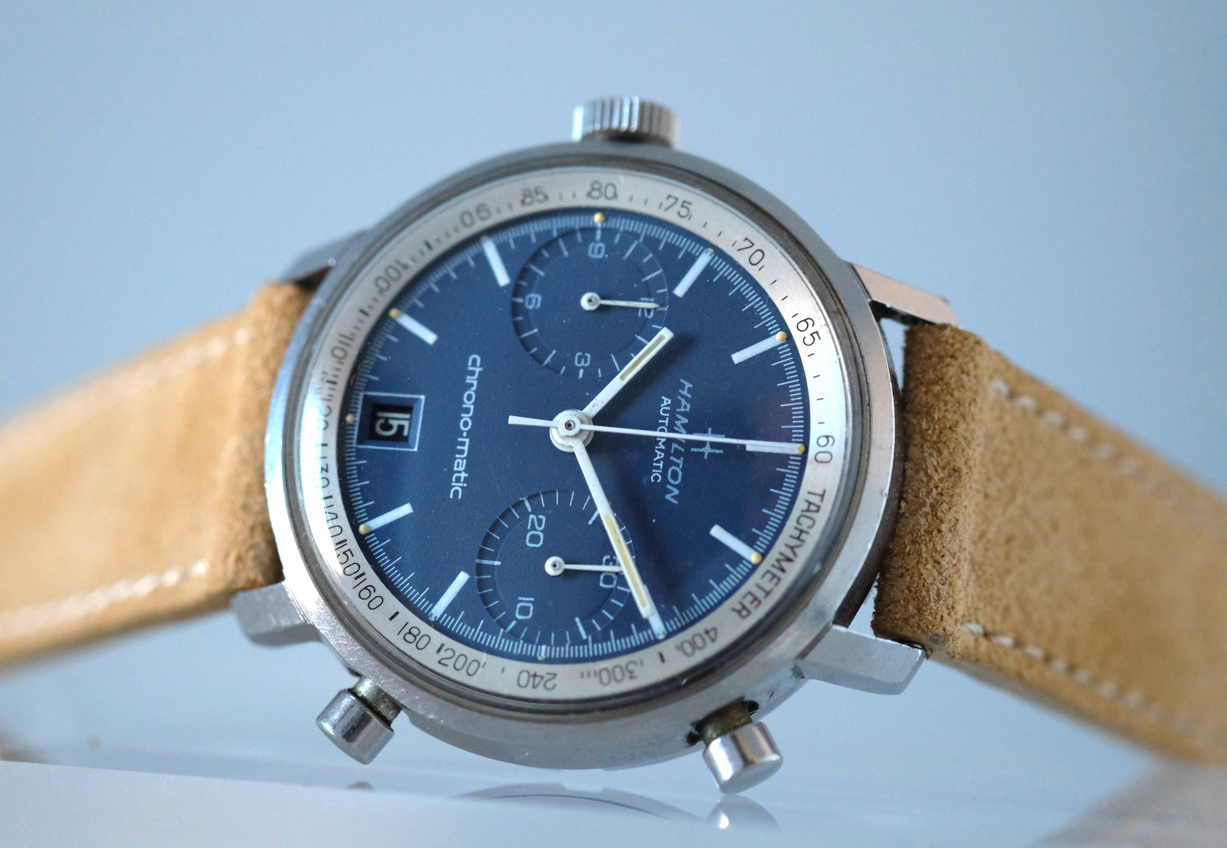 Hamilton Chrono-Matic Circa 1969   SOLD