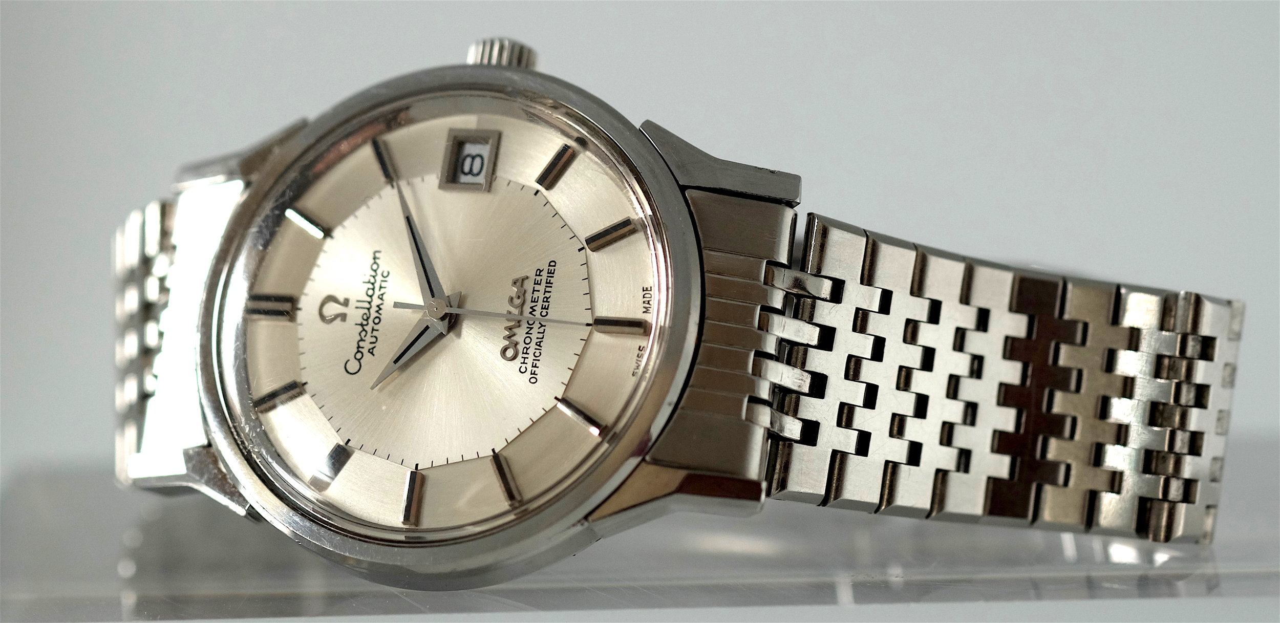 """Omega Constellation """"Pie Pan""""   SOLD"""
