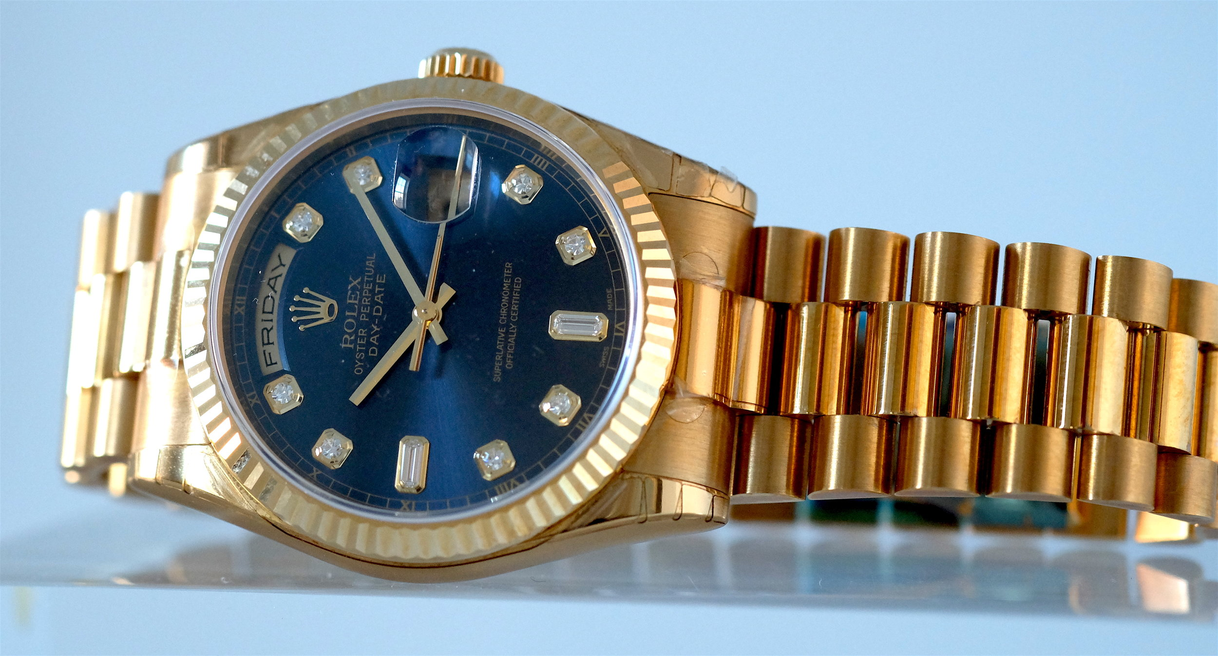 Rolex Day Date w/ Diamond markers Ref.118238   SOLD