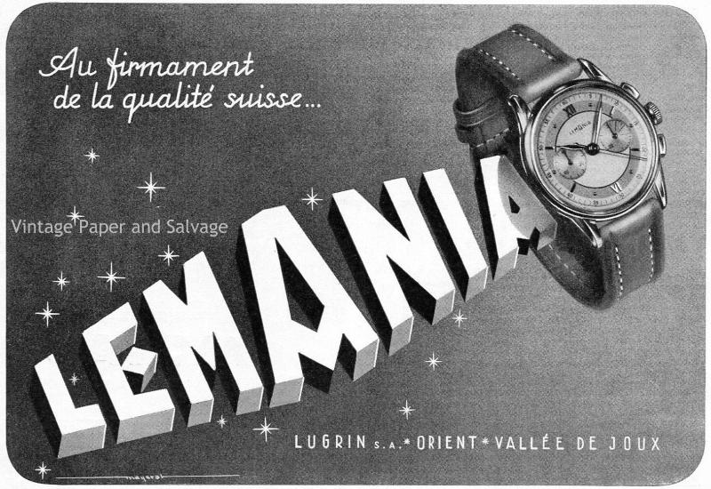 Lemania-advertising