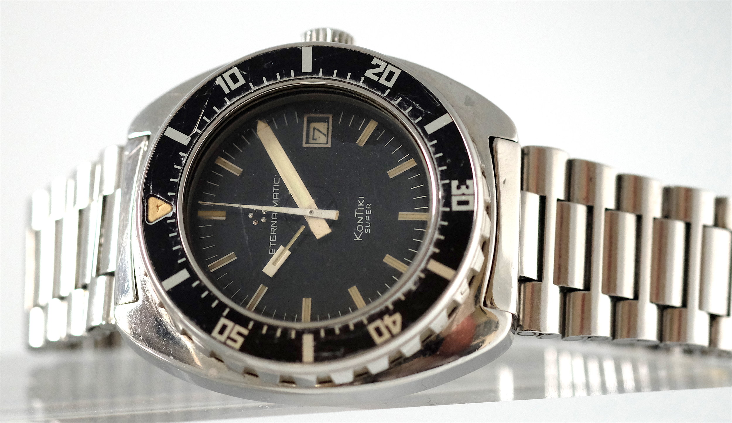 Eterna Kontiki Super Diver issued to IDF   SOLD