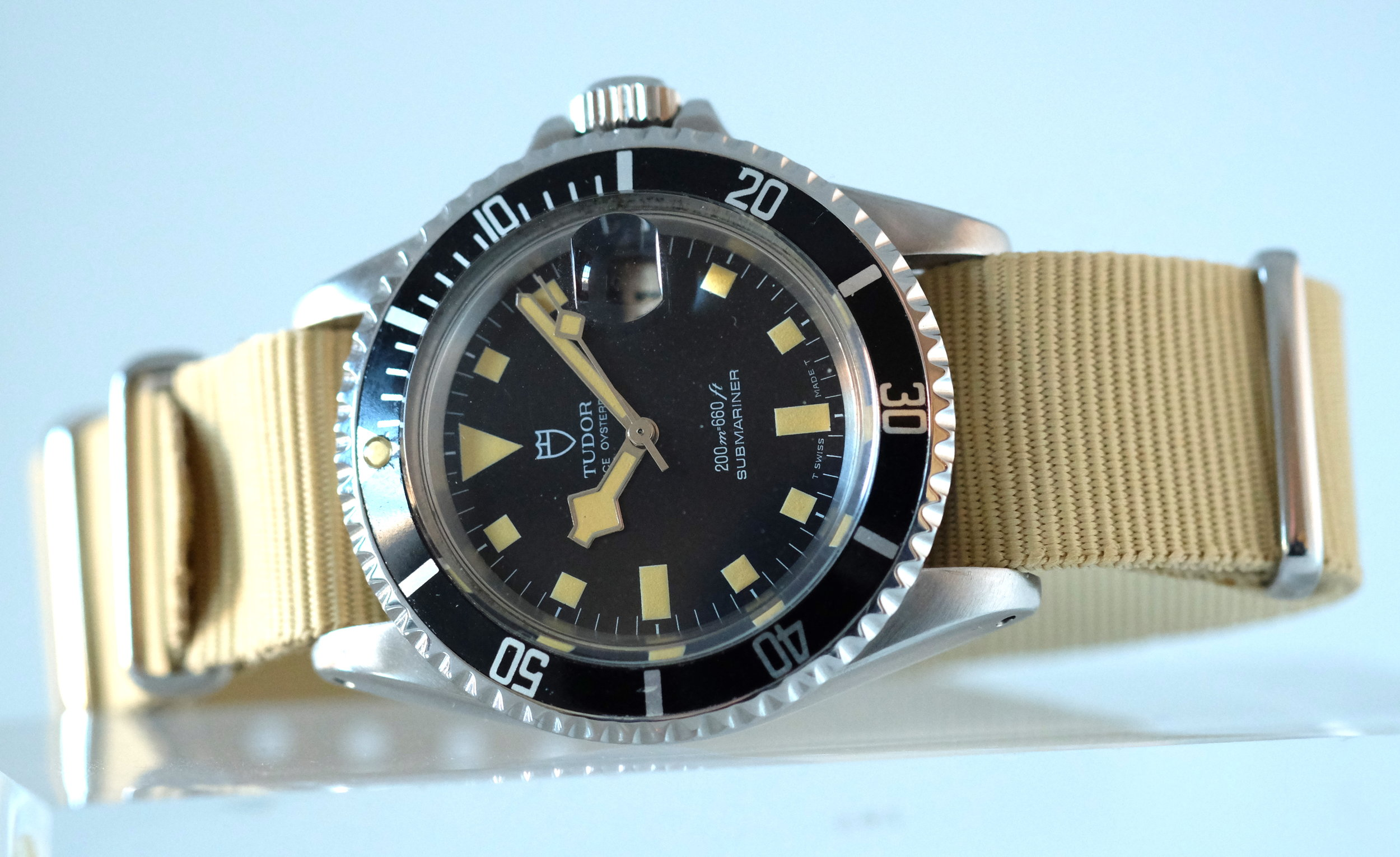 "Tudor ""Snowflake"" Submariner Ref. 7021/0   SOLD"