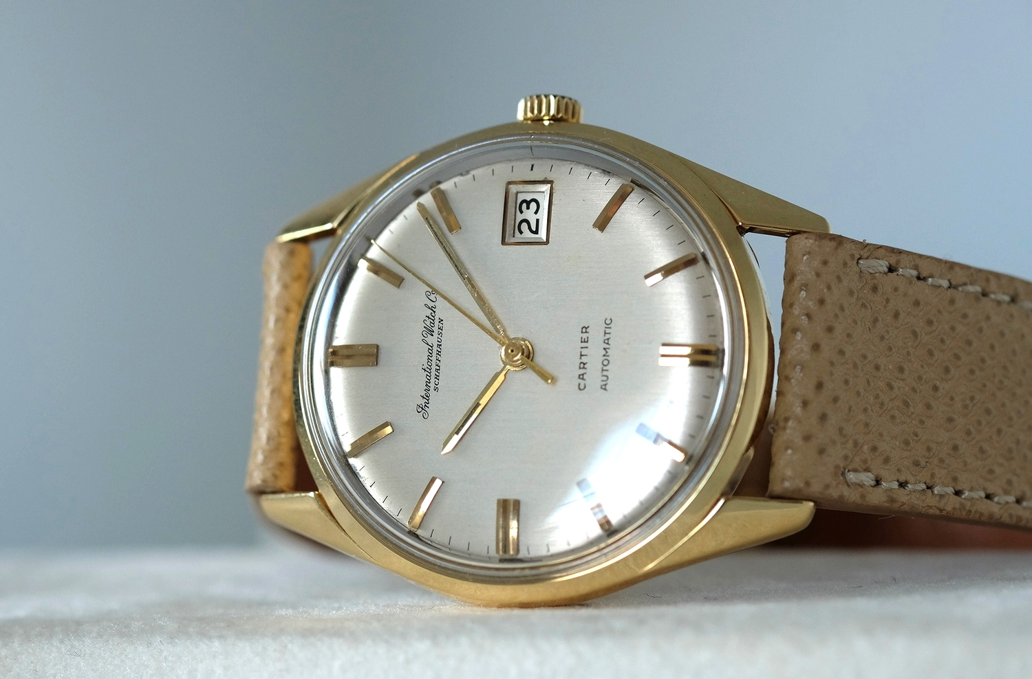 IWC Automatic date for Cartier   SOLD
