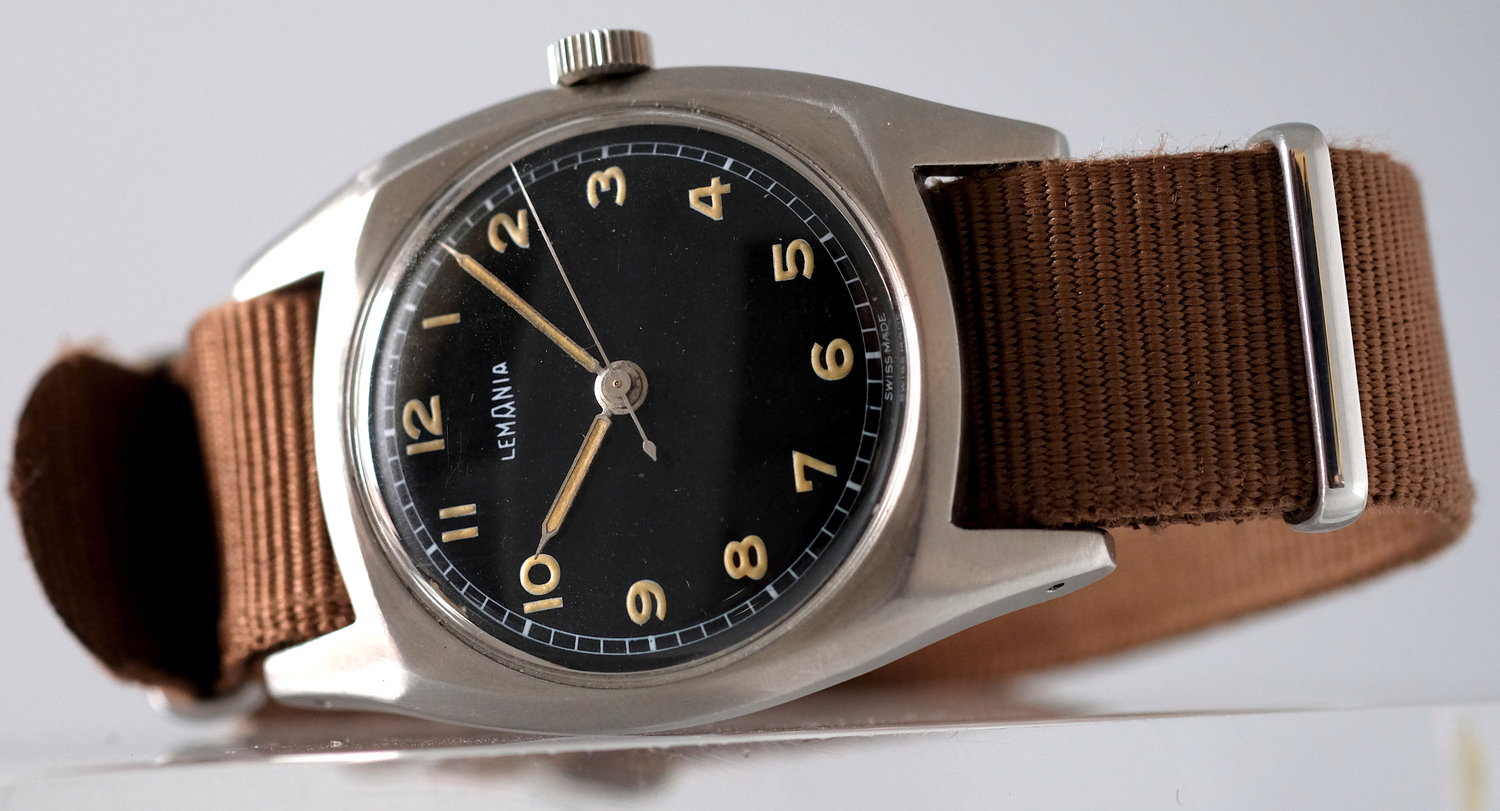 Lemania Watch for the Czech Air Force   SOLD