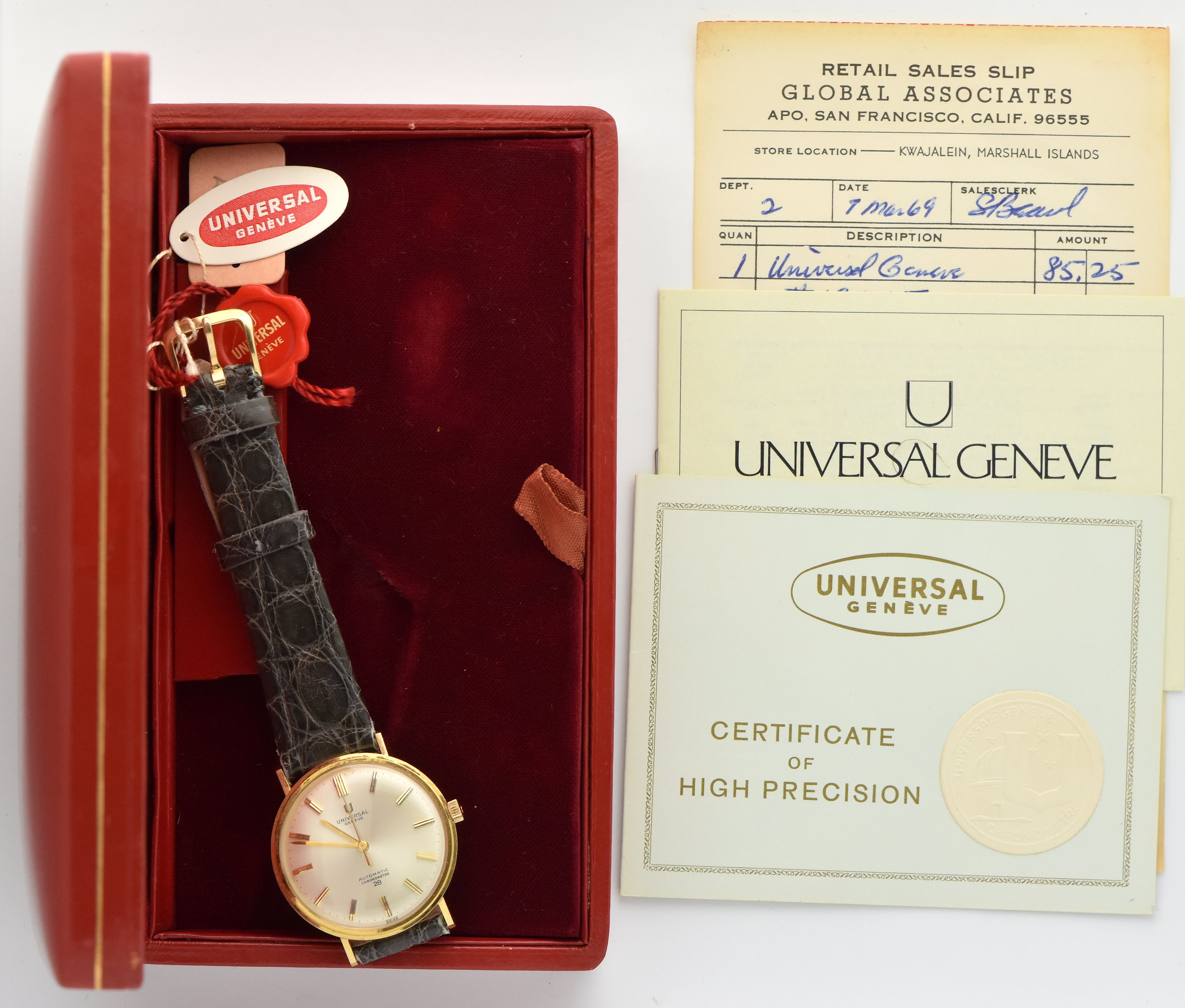 Universal-geneve-complete-package