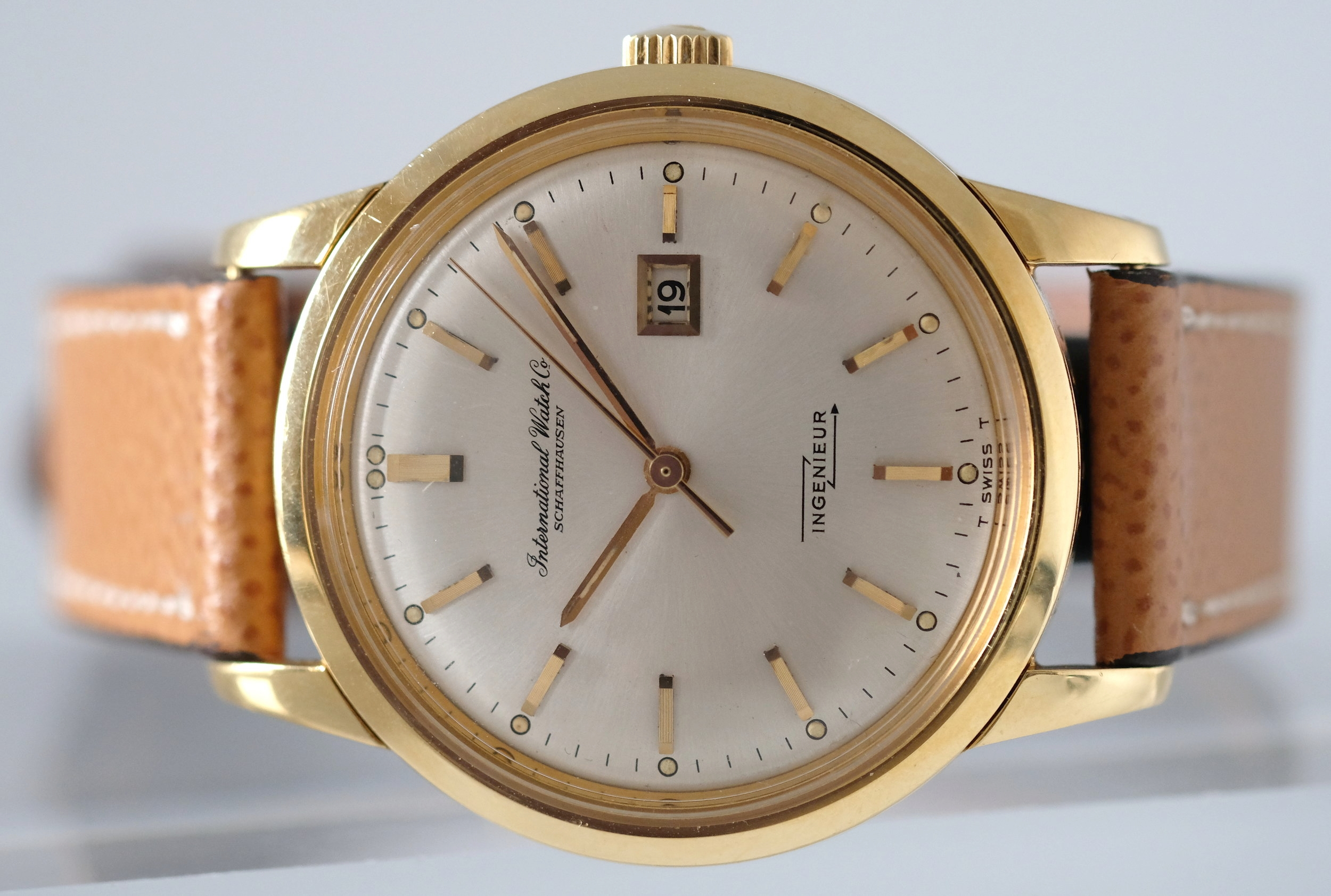IWC Gold Ingenieur Ref. 666AD  SOLD