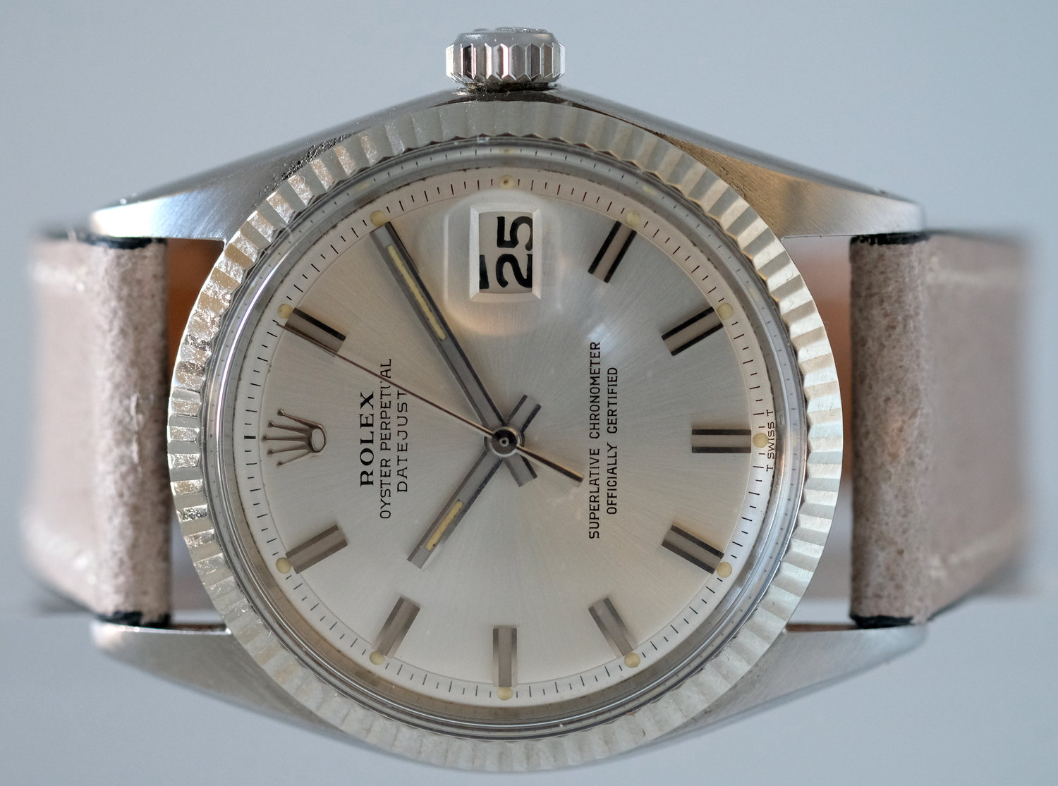 "Rolex Datejust ""Wide Boy"" Ref. 1601*  SOLD"