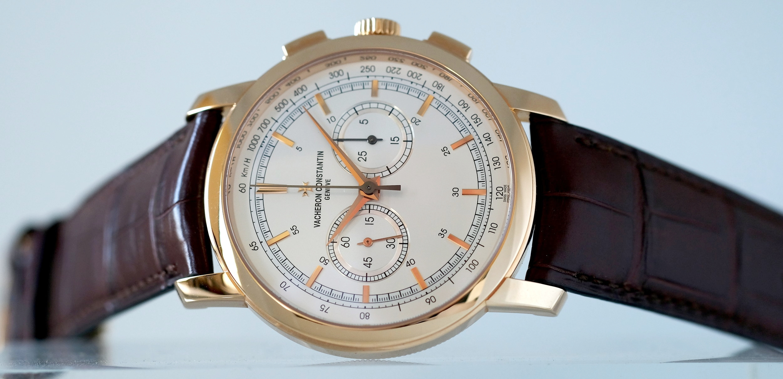 Vacheron Constantin Traditionelle Chronograph Pink Gold  SOLD