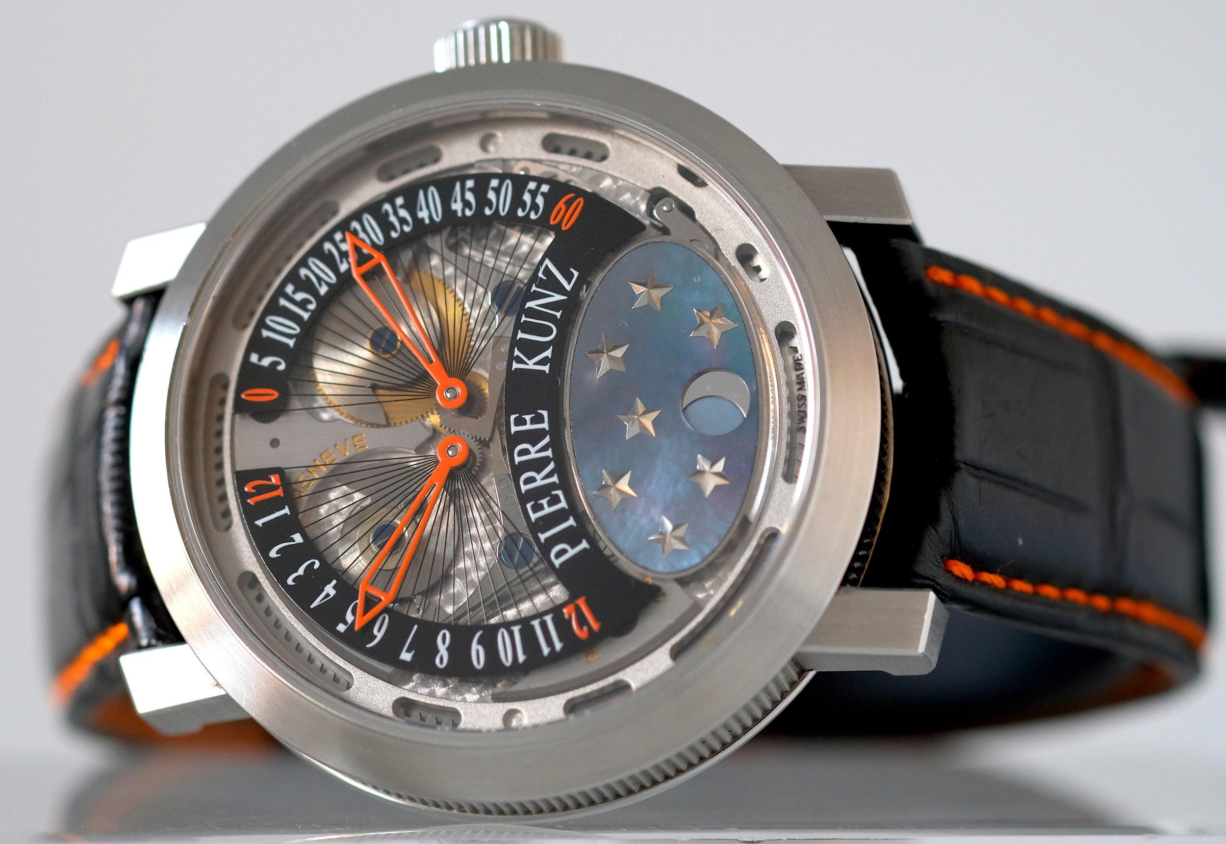Pierre Kunz Spirit Challenge Titanium  Price: $7,950