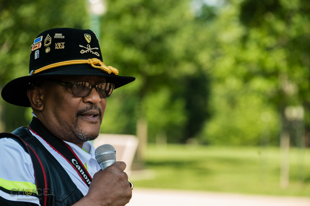 """Aaron Thorn, Jr., 67, U.S. Army from 1968-1988 at America's Vets Helping Vets For Life """"March 4 Veterans Rights."""" Rally, May 28, 2016 Washington, D.C.(Rodney Choice/Choice Photography/www.choicephotography.com)"""