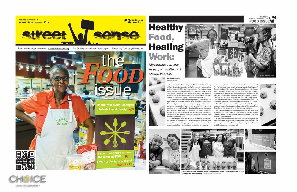 Street Sense, The Food Issue (Rodney Choice/Choice Photography/www.choicephotography.com)