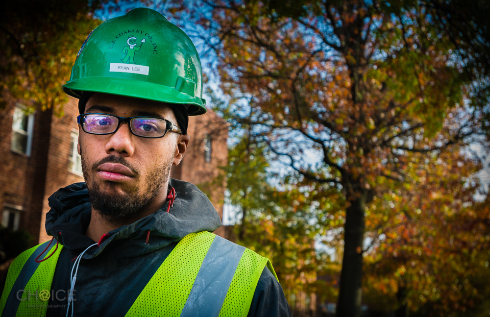 Ryan. 22 years old. Construction Worker, Southeast, Washington, D.C. (Rodney Choice/Choice Photography/www.choicephotography.com)