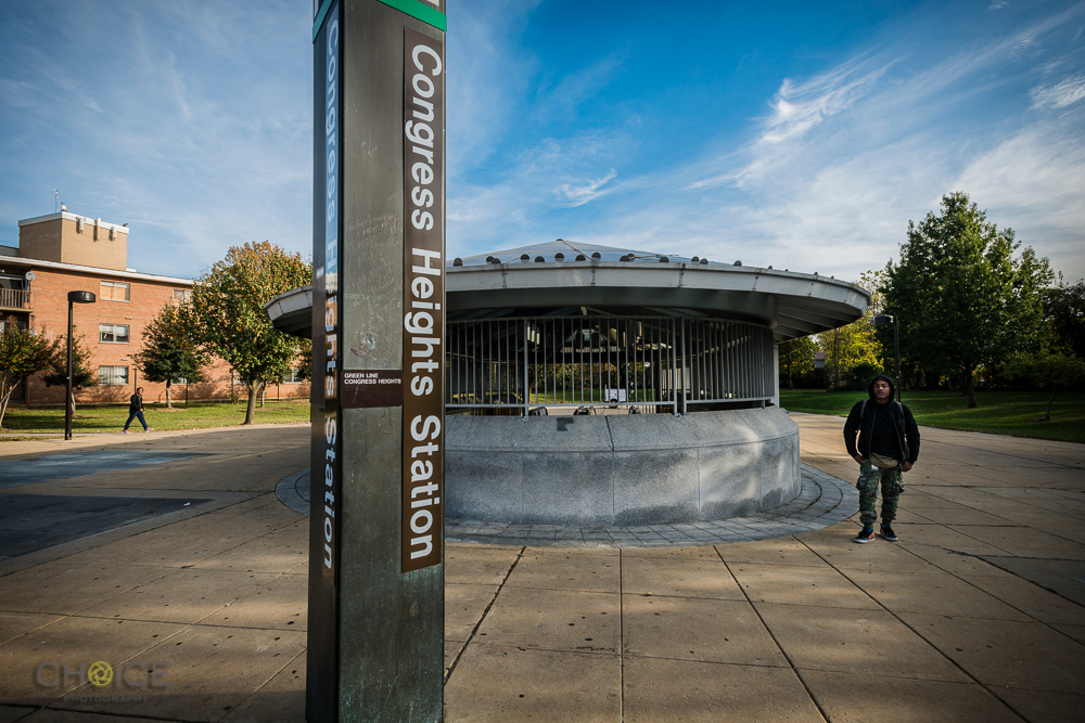 Congress Heights Metro Station,13th and Alabama Avenue, SE, Washington, D.C. November 8, 2016 (Rodney Choice/Choice Photography/www.choicephotography.com)