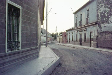 My father's image of San Fernando, Chile