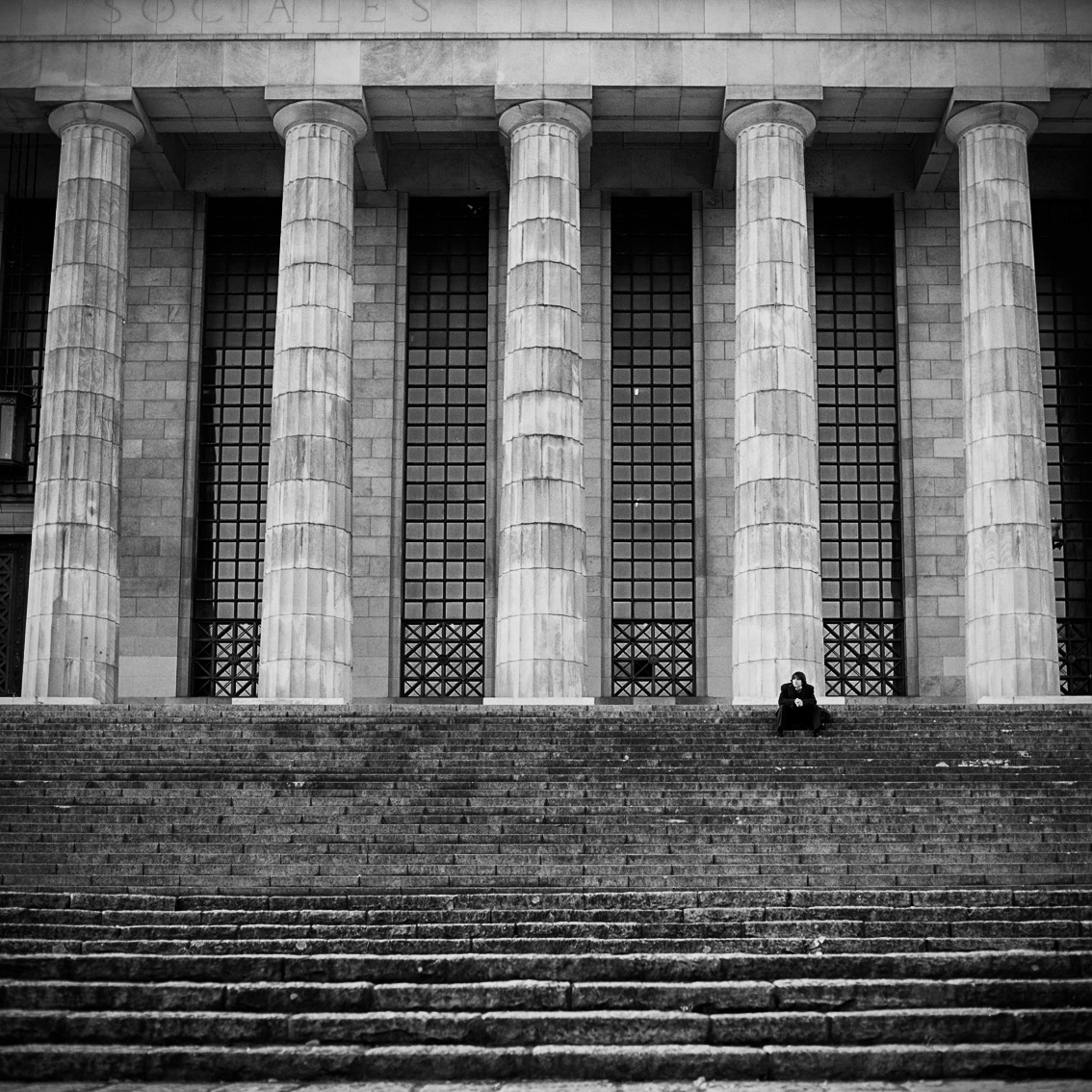 Columns, Law School, Buenos Aires University,