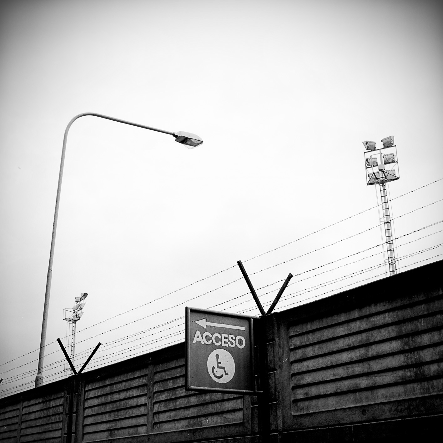 Sign, Quilmes Soccer field