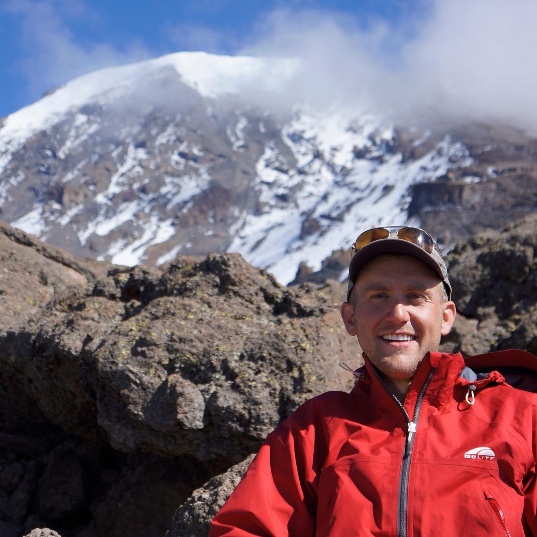 Ron on Summit Day of Mt. Kilimanjaro