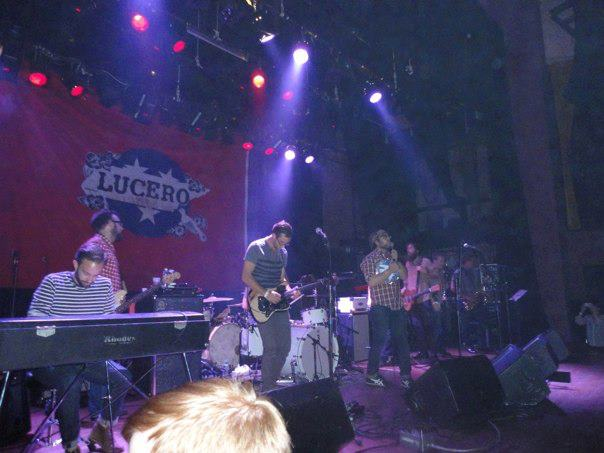 Opening for Lucero at the Boulder Theater