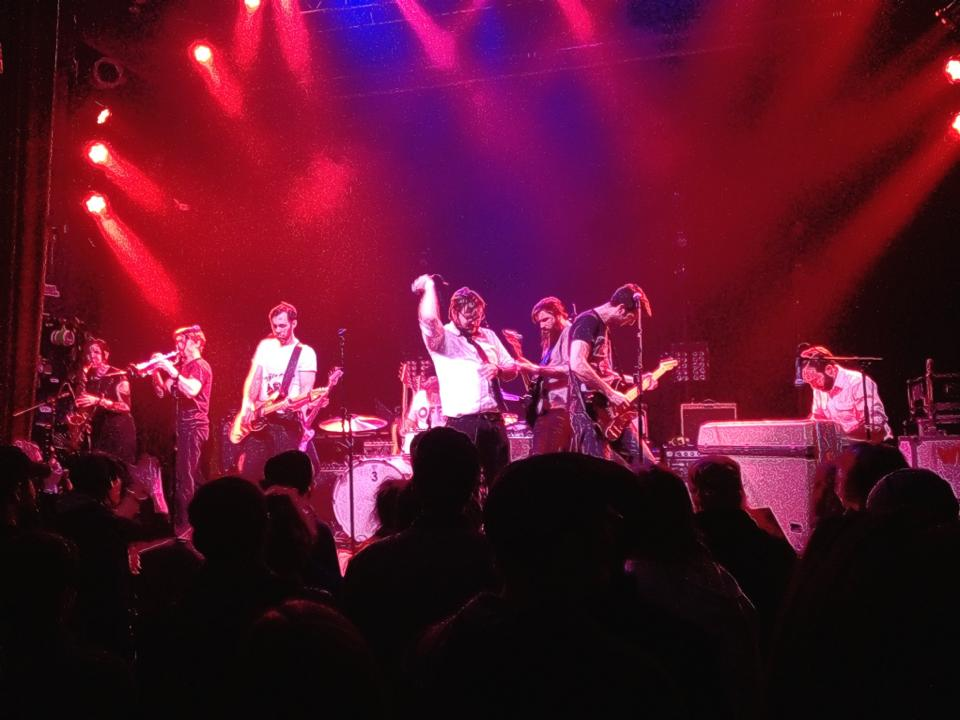 Opening for Five Iron Frenzy at the Ogden