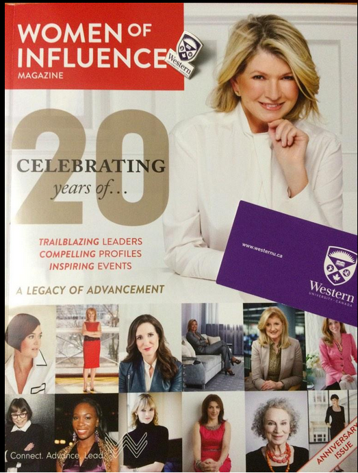 Women of Influence, Magazine