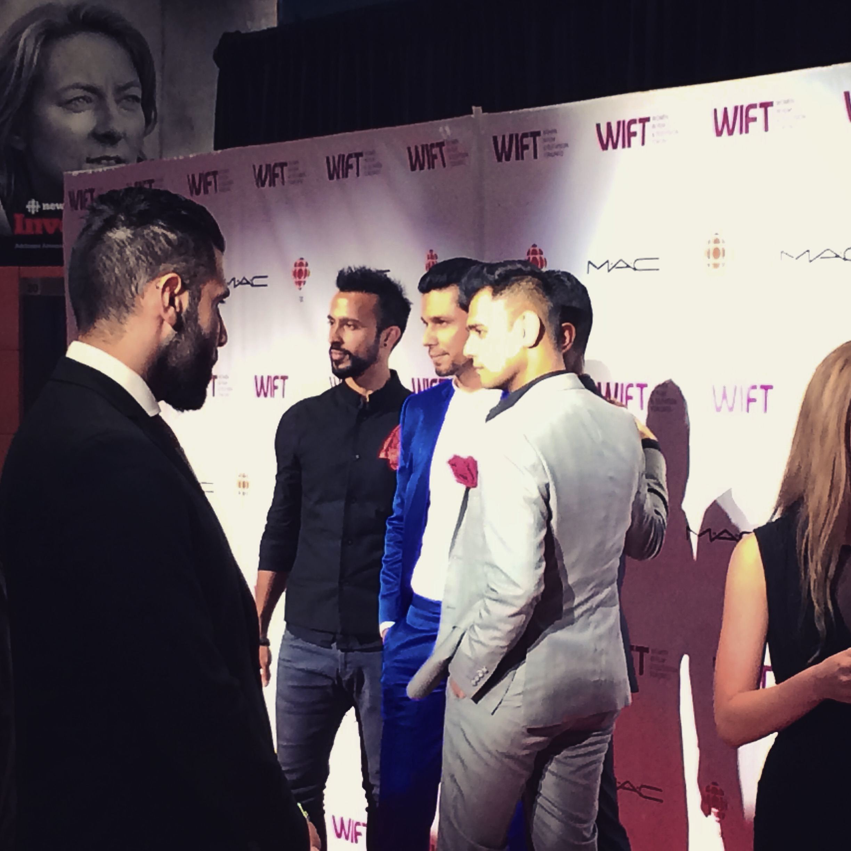 Beeba Boys Cast at WIFT TIFF Gala