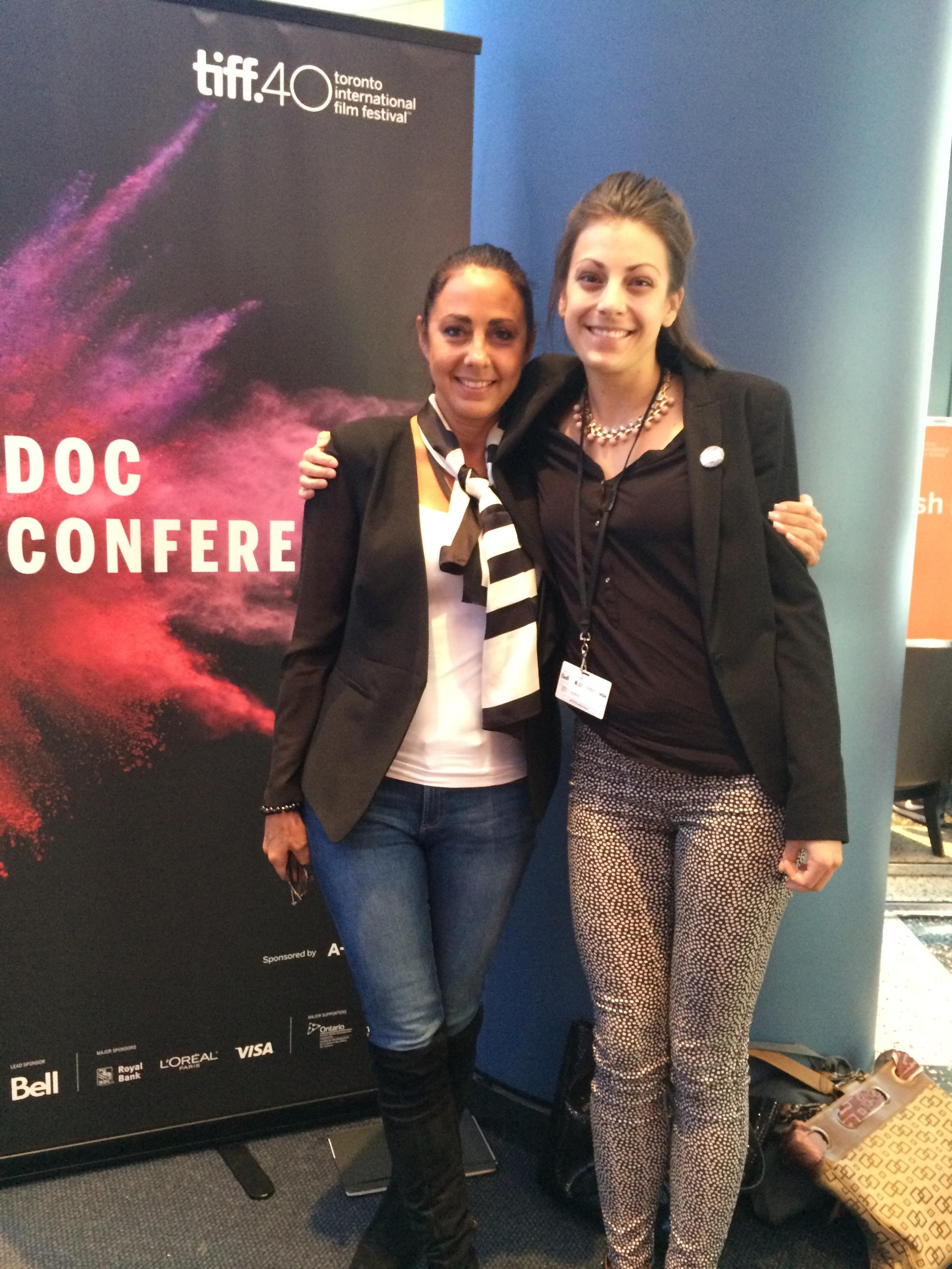 Angela Barnhardt Thomas and Me at TIFF 2015