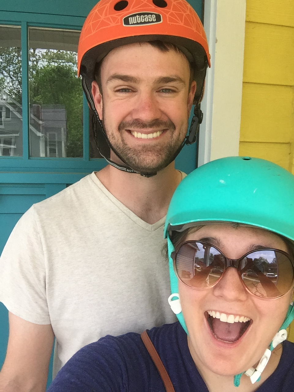 Let's just take a moment to appreciate how cute this guy is! We love biking to things together. Last week we biked to Ballet Under the Stars in Woodland Park and it was AWESOME not trying to find a parking space.