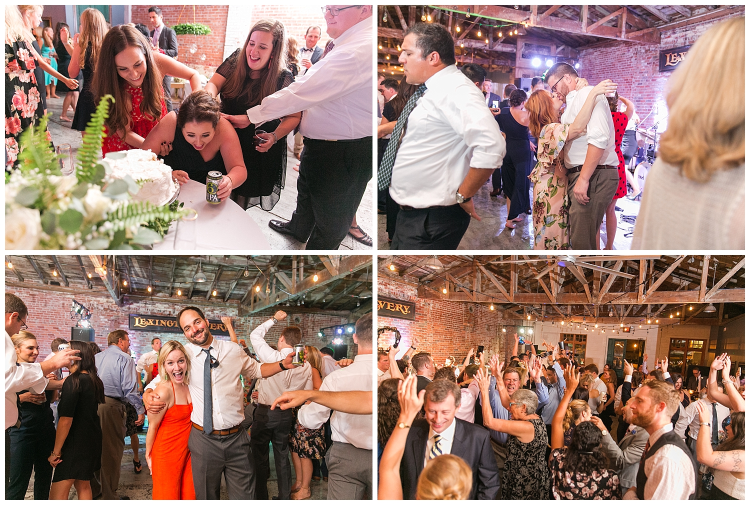 At one point, I did think a bridesmaid was going to unwilling have some cake.