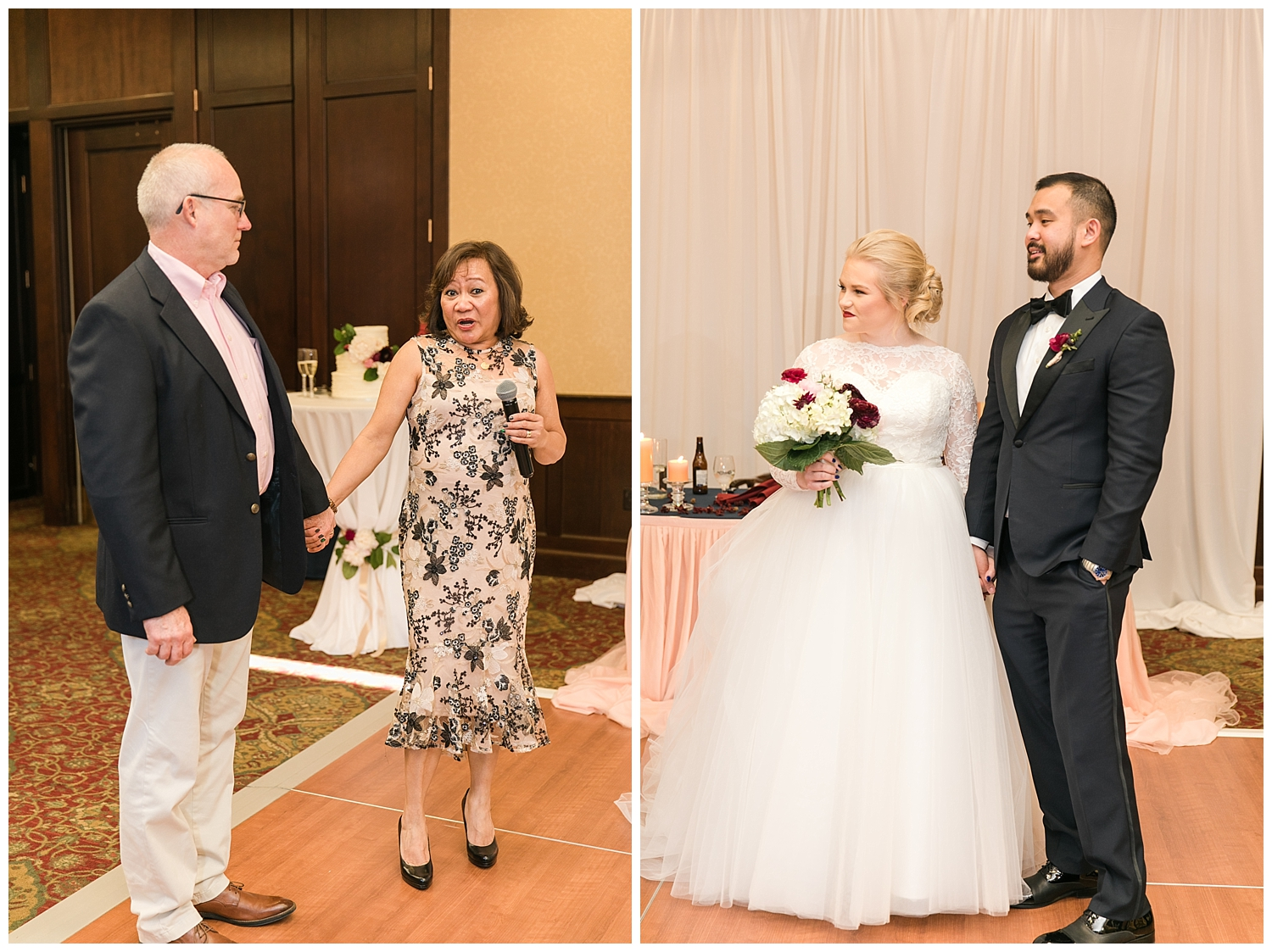 This is such a fun idea for weddings! All of the married couples come to the dance floor and the DJ will call out amounts of time until only the couple who has been married the longest remain standing. The couple then shares wisdom and knowledge on a successful marriage with the newlyweds!