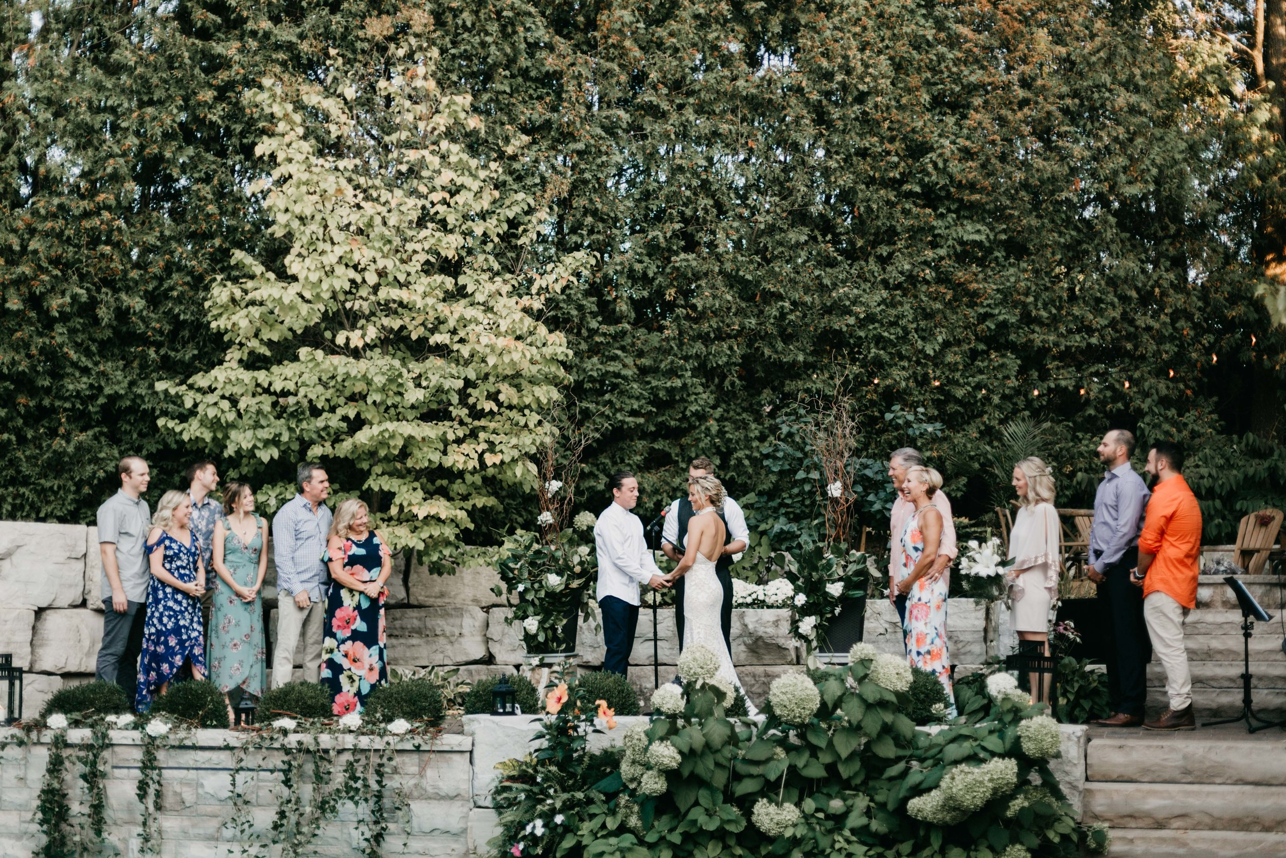 Intimate Outdoor Backyard Wedding Ancaster Ontario-153.jpg