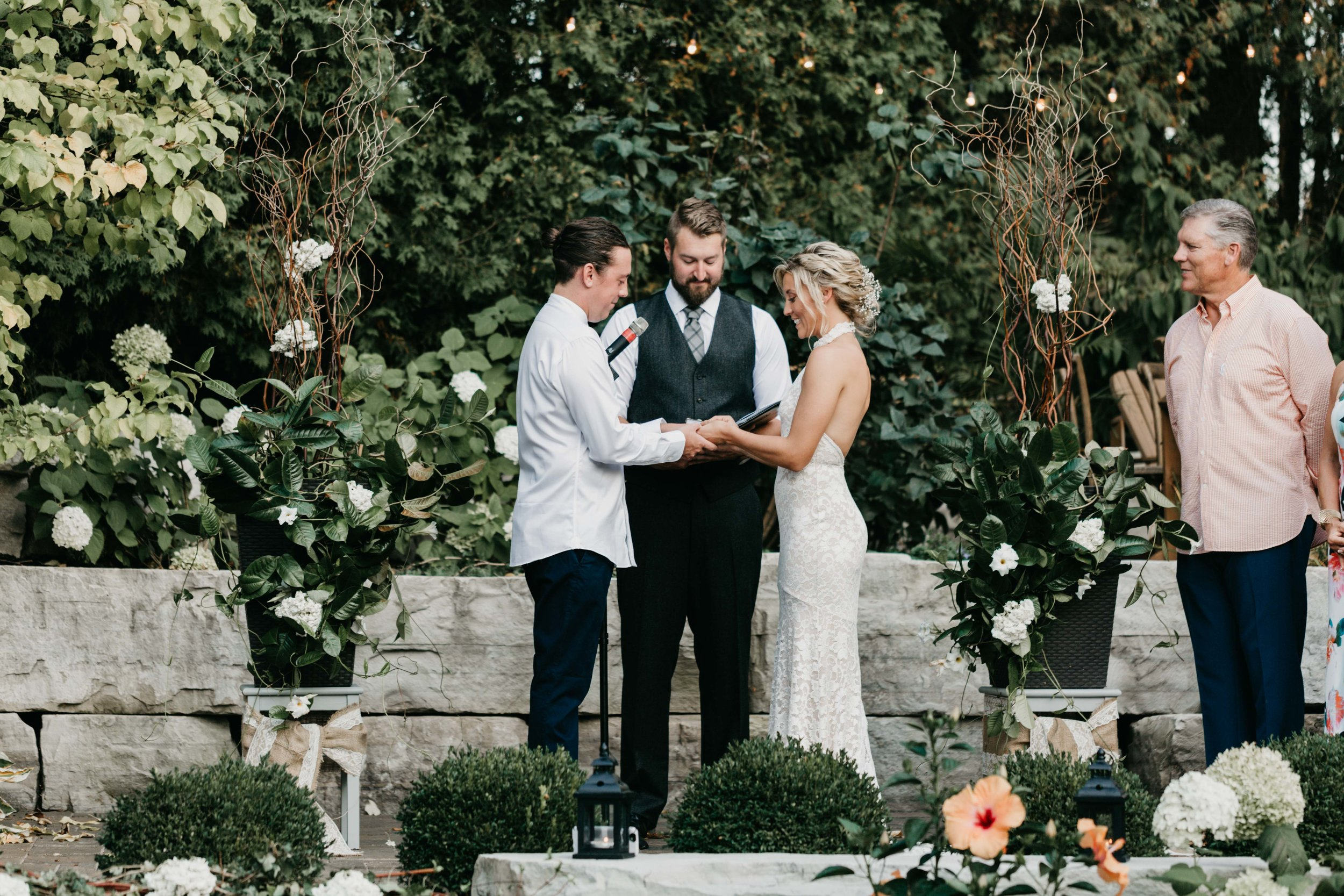 Intimate Outdoor Backyard Wedding Ancaster Ontario-173.jpg
