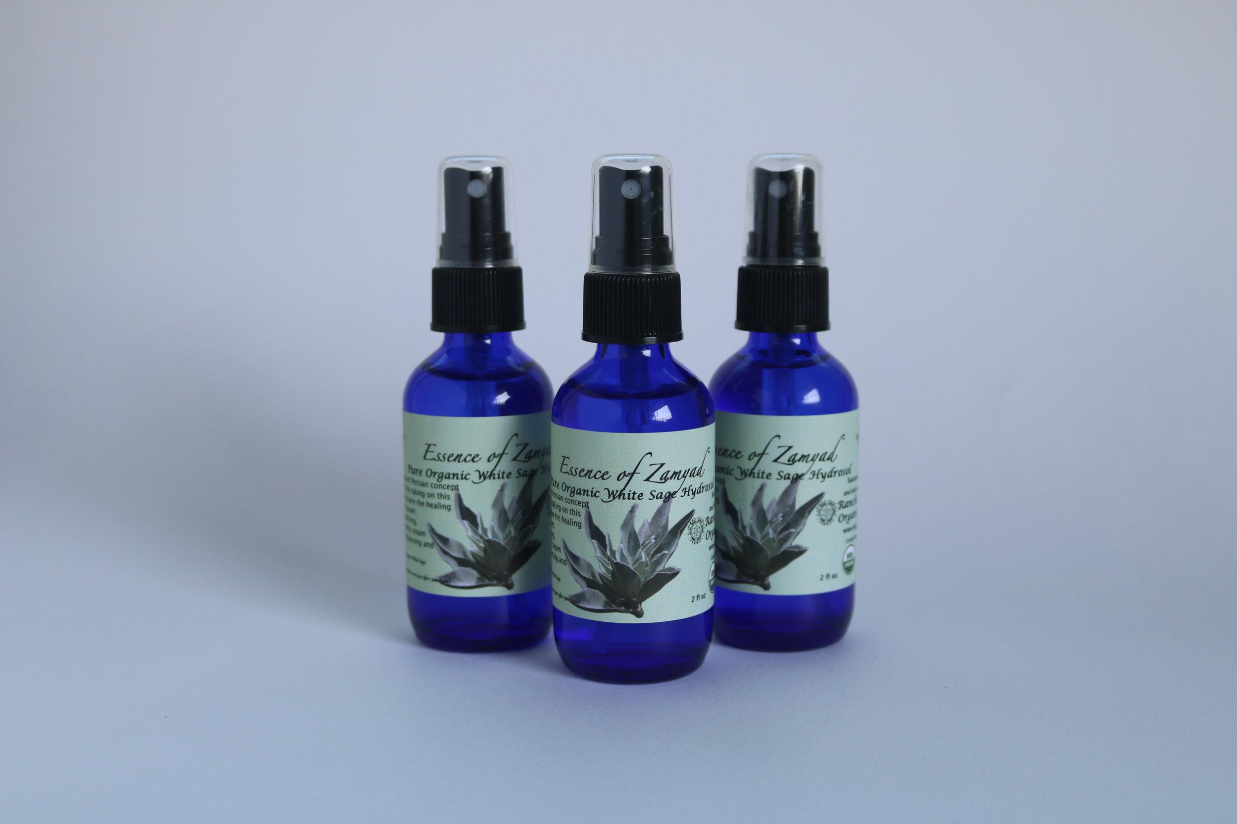 Pure Organic White Sage Hydrosol