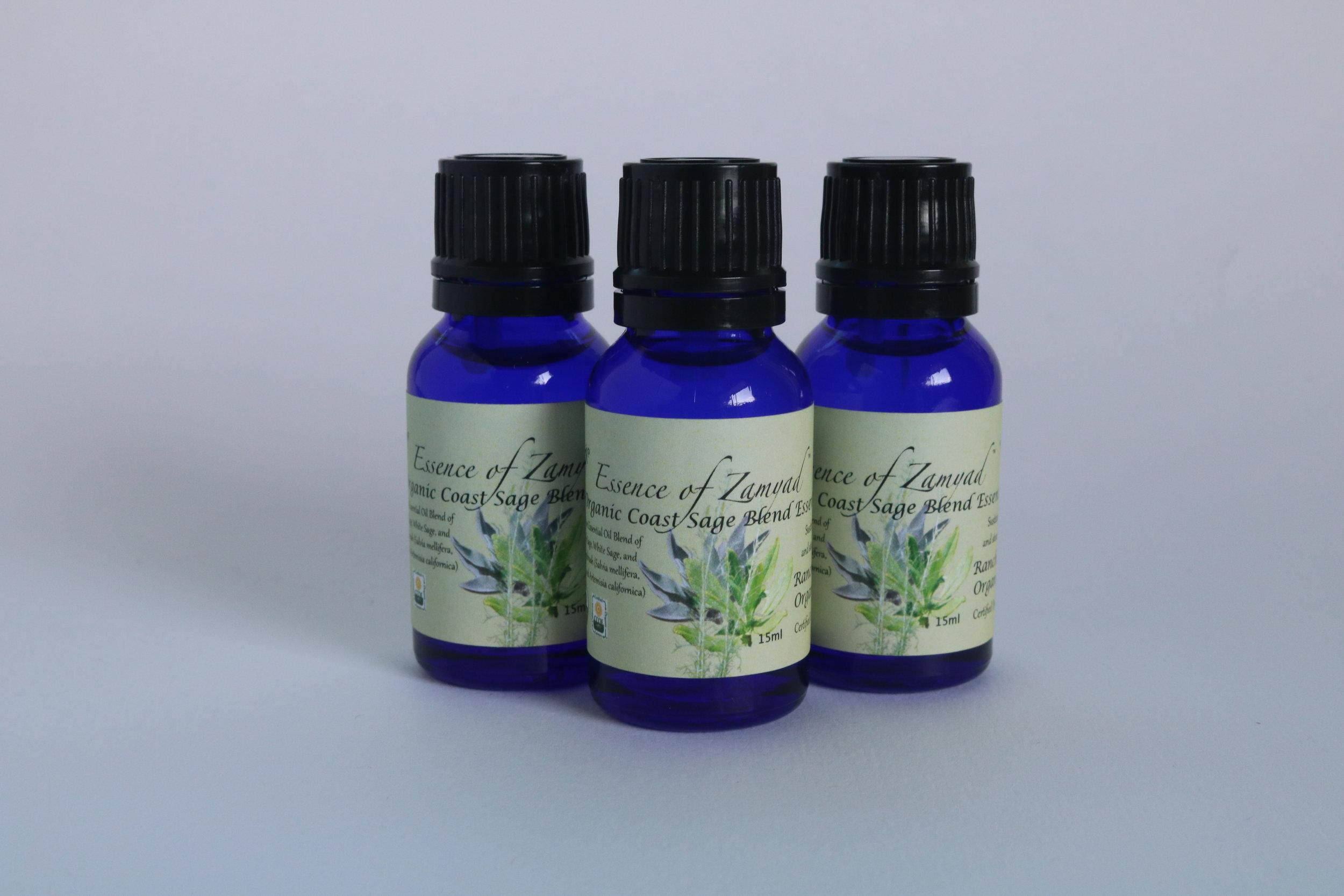 Organic Coast Sage Blend Oil