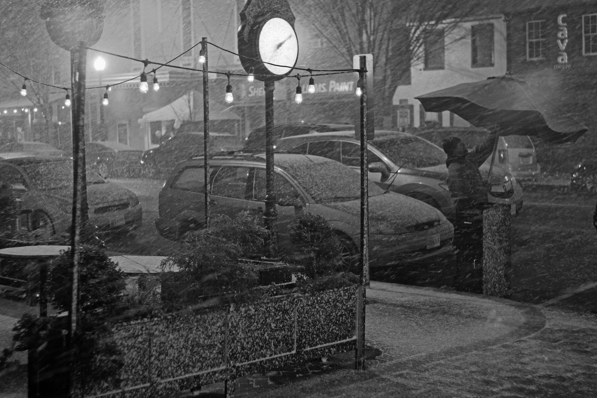 Eastern Market/Barracks Row neighborhood, Washington, DC. February 14, 2015.