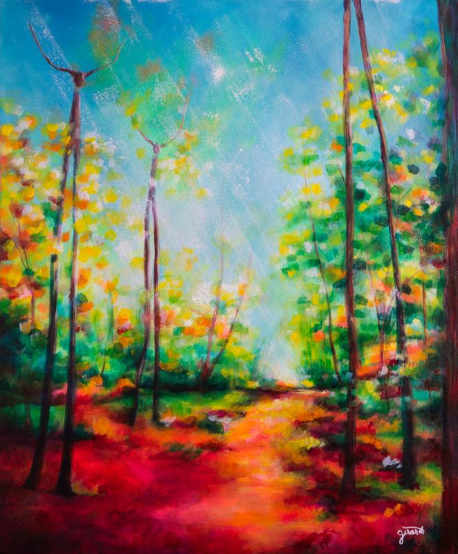 Treefolk Fantasy Landscape
