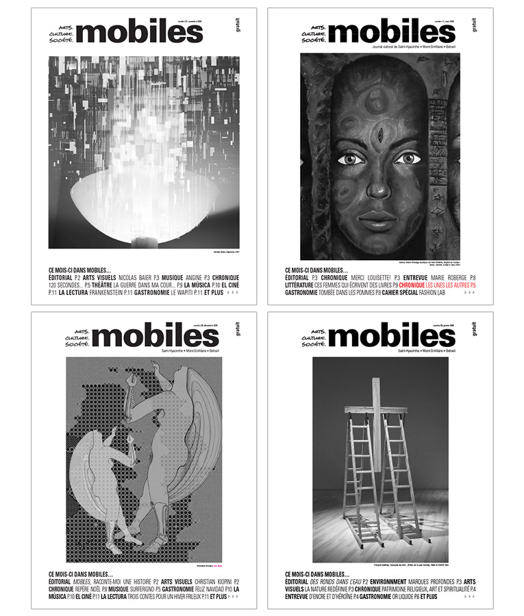 "Creation of the cultural newspaper ""Mobiles"""