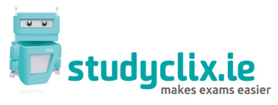 Logo for studyclix.ie made by Claudelle Girard