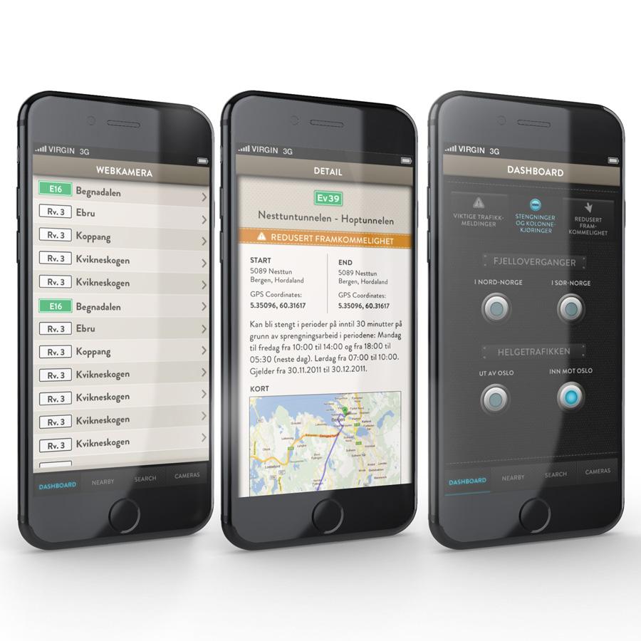 Vegvesen Traffic App