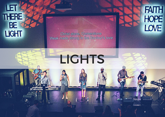 LIGHTING - Our Lighting Team transition the colours and effects in the auditorium during the service, contributing to a contemporary feel.No experience is needed, because training is provided↓ Complete the form below to get involved.