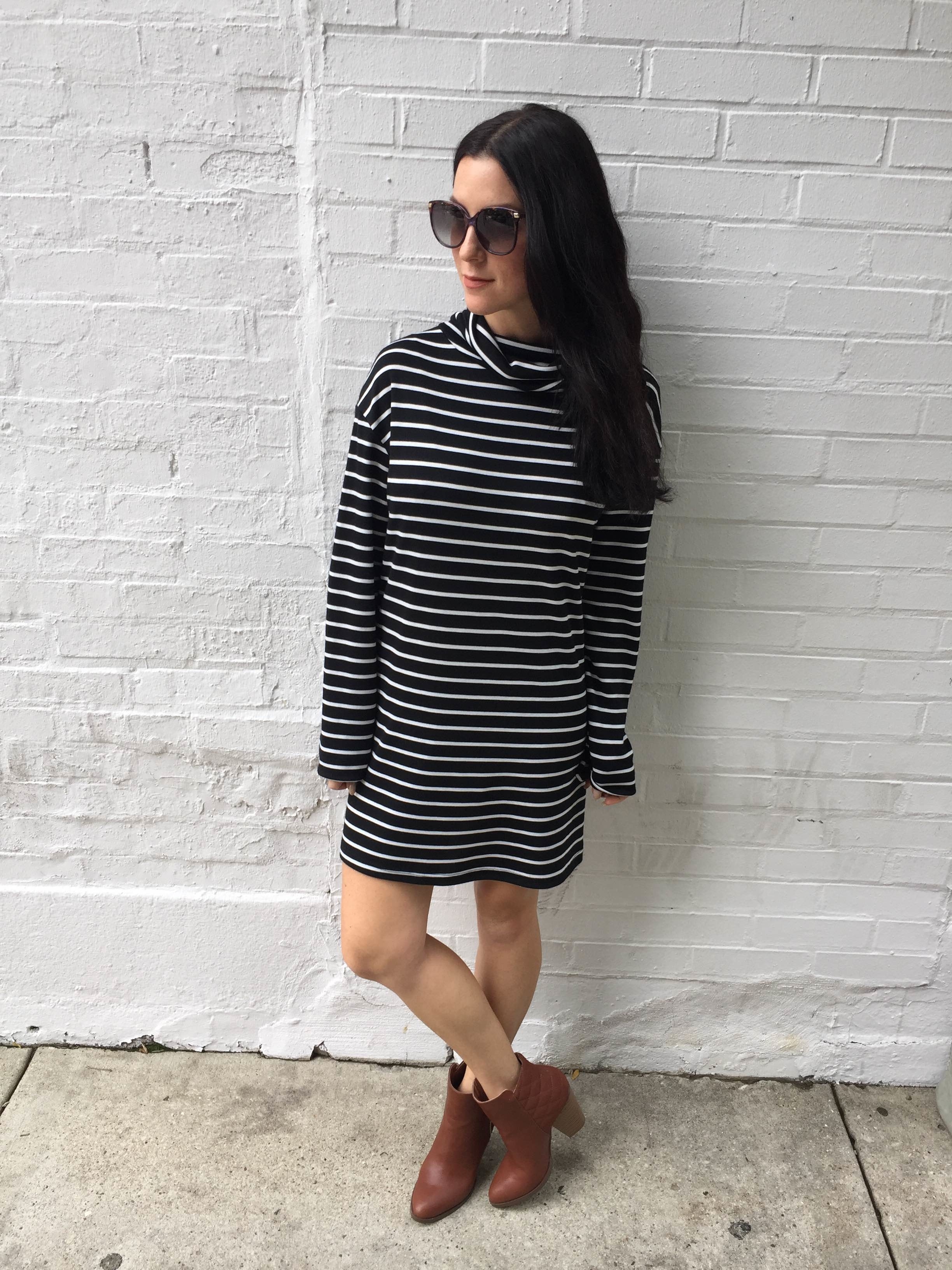 Dress//  Free People           Sunglasses//  Toms       Booties//  Just Fab