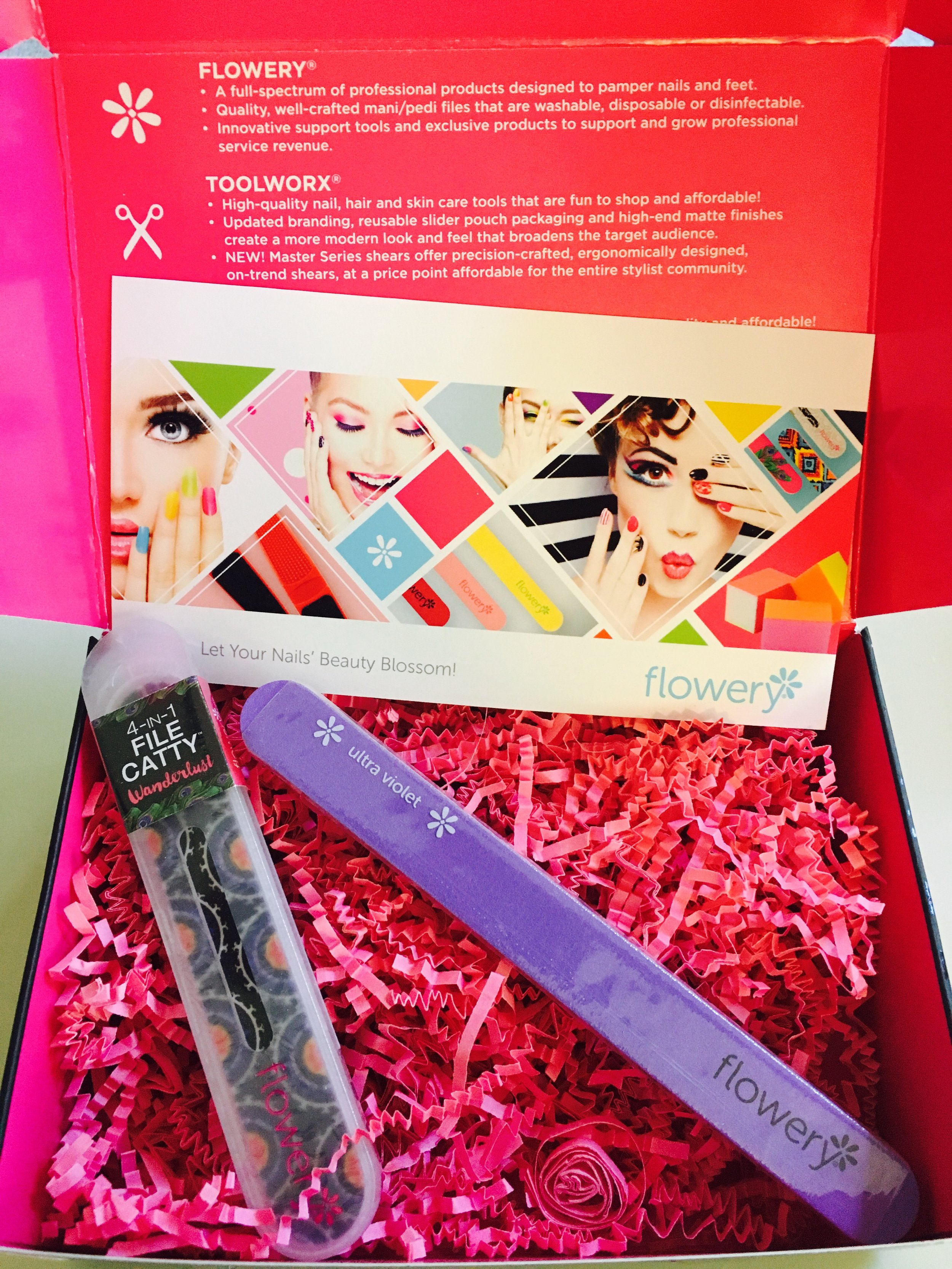 As a girl who loves a good manicure, but prefers to do her beauty routines herself if possible I love these nail files by   Flowery Nail   because they are time savers! We have all used files before that take forever to do the job, but that is not the case with these and I love it.