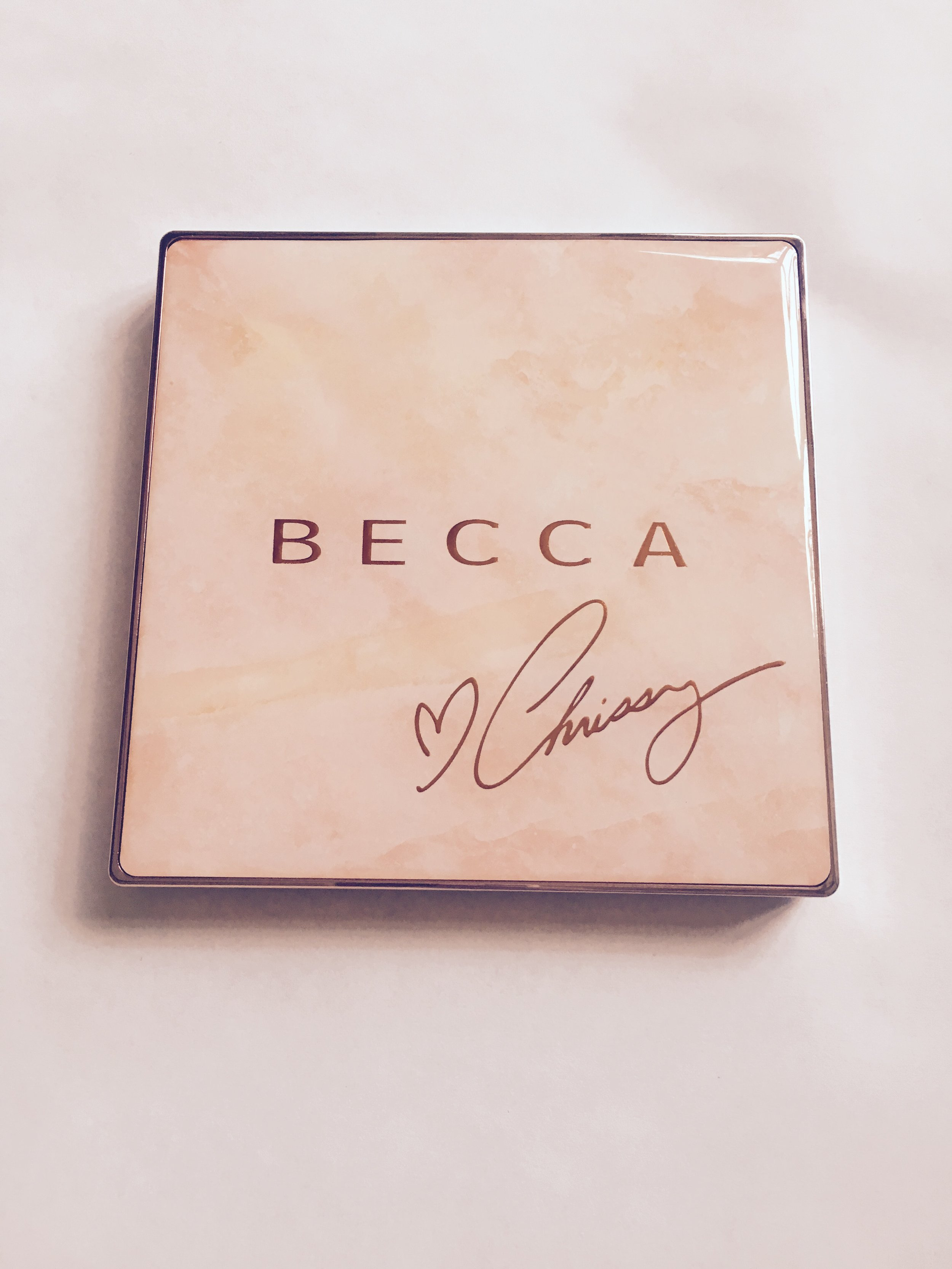"""The CHRISSY x BECCA Glow Face Palette"""