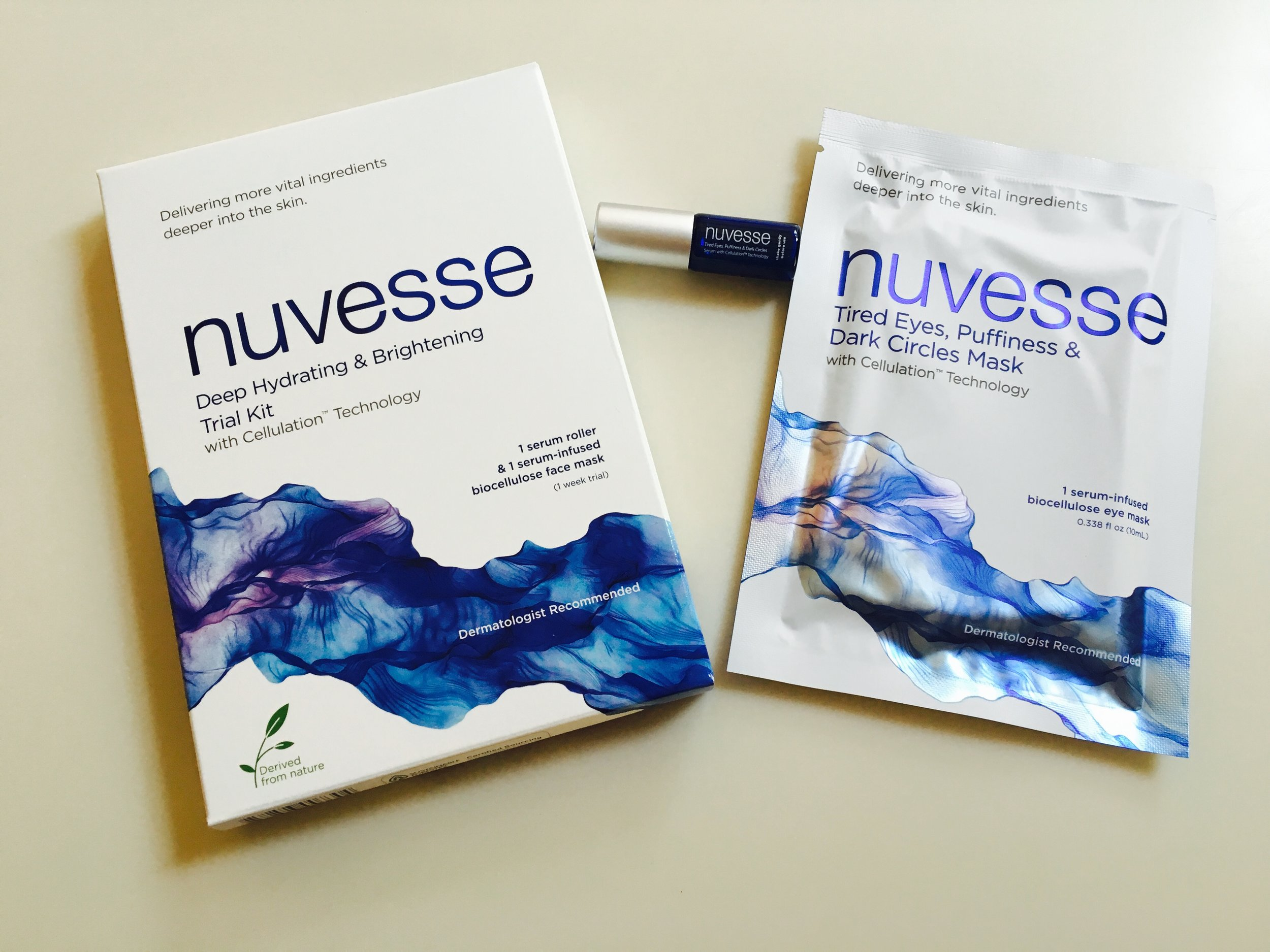 When the fall season is just around the corner and my schedule doesn't allow for as much sleep, a little bit of   Nuvesse   does the trick! Love the way this mask literally wakes up my skin.