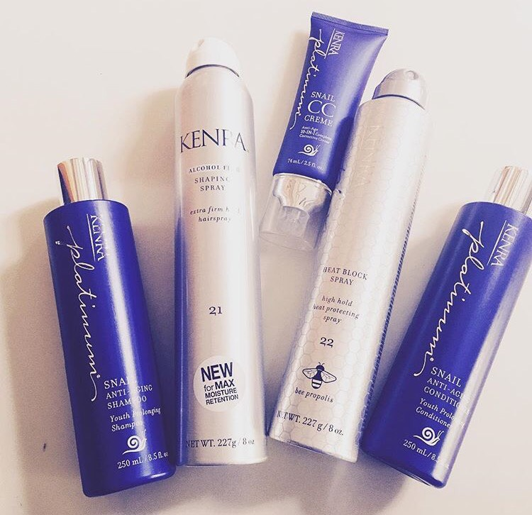 Kenra   always makes a great hair product and I am loving the   Platinum Snail Collection  ! It makes my hair feel super lightweight, shiny, and smells SO good. All of their hairsprays and shaping sprays work exactly how they say they will and I love how they have so many different varieties for any hair type and styling need!