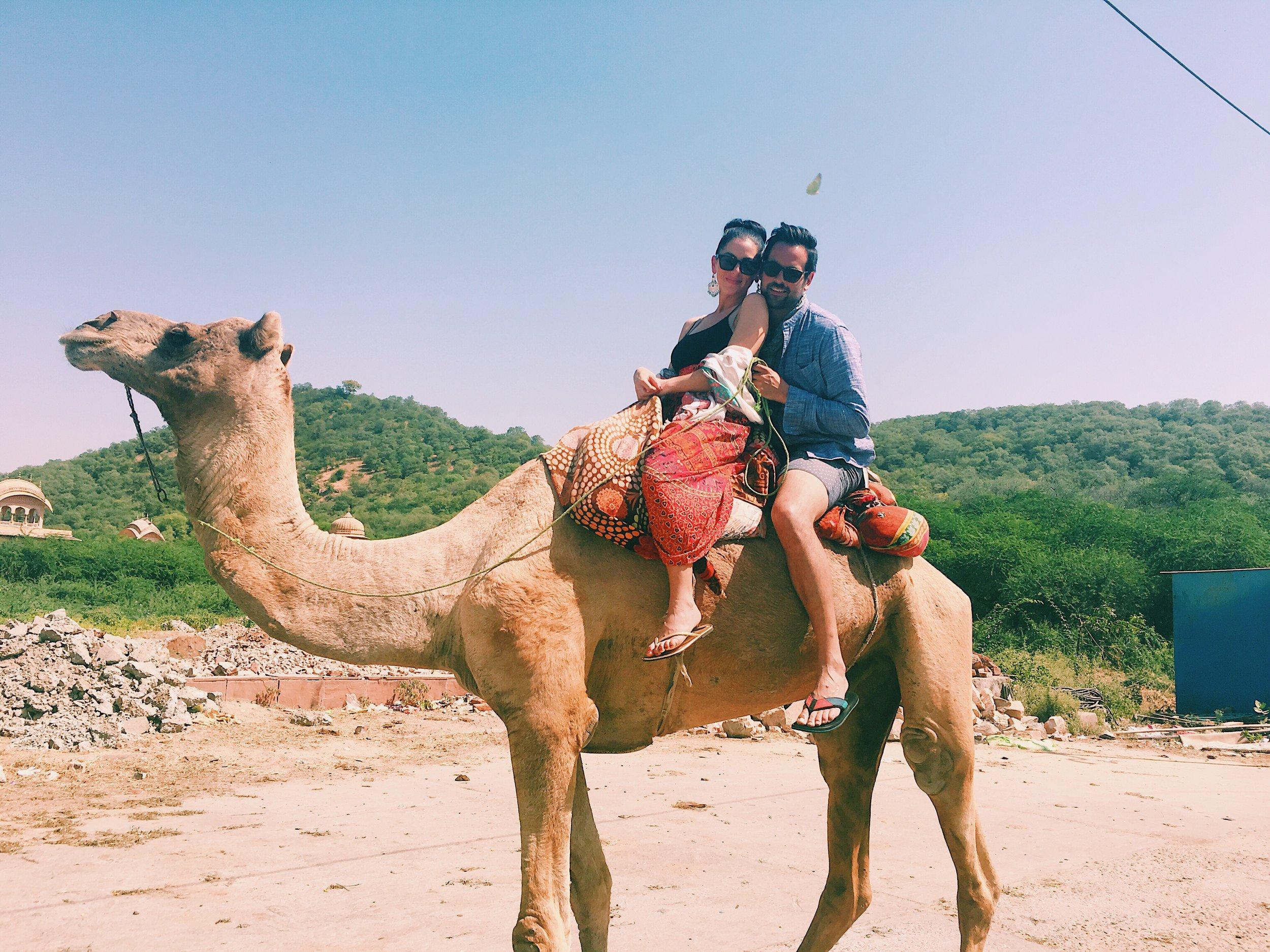 Camel Ride- Jaipur, India