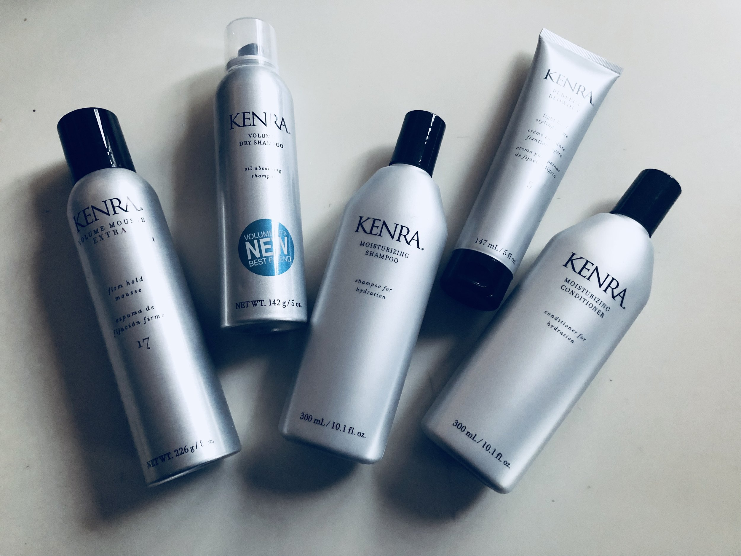 I always love    Kenra    products, but these have to by my top favorites! The shampoo and conditioner smell so amazing and leave my hair silky smooth. And for a girl who uses dry shampoo almost every day either to skip a wash or maintain the style their dry shampoo is a dream!