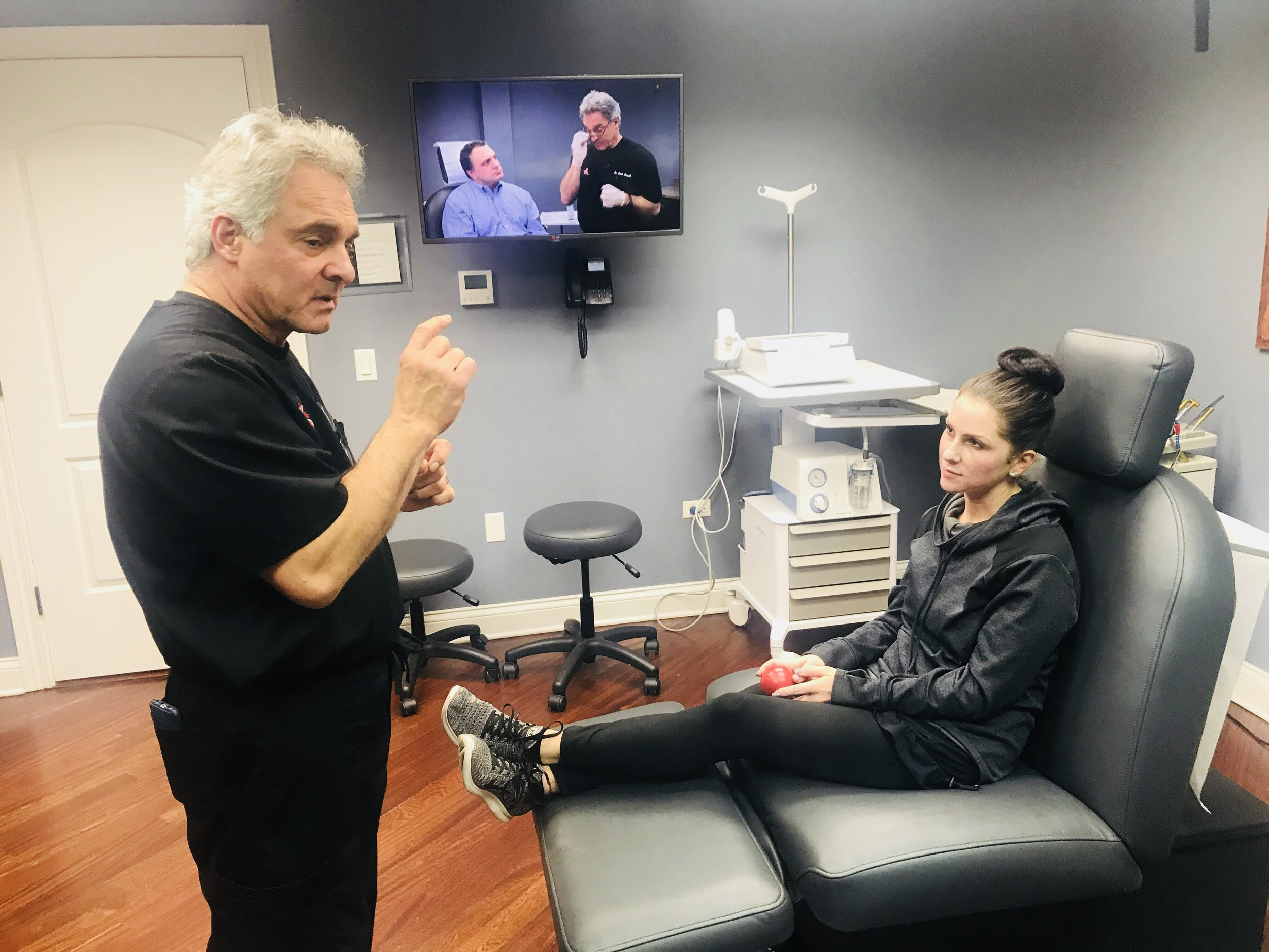 I recently had my first trip to see   Dr. Kovak   at his Oakbrook location and I am so happy with the results! The office is welcoming, comfortable, relaxing, and the staff is amazing! I signed up to try the   Halo laser treatment   which for me is great as I have a TON of freckles and some brown spots thanks to my Irish skin ;)  First, I filled out a bunch of paper work for good measure and then went onto get consulted by Dr. Kovak just to make sure I was a good fit for this procedure. After he decided that I would be a good client for this, numbing cream was applied and I had to let that sit for about 45 minutes before the laser treatment.